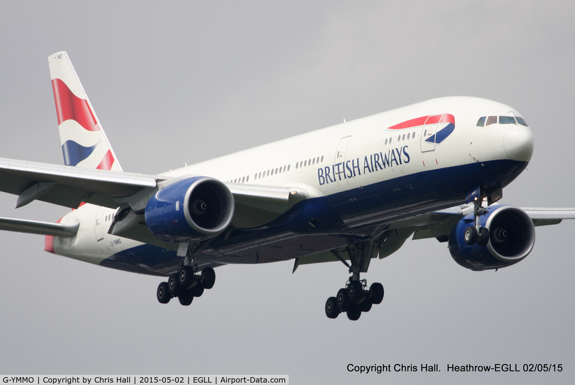 G-YMMO, 2001 Boeing 777-236 C/N 30317, British Airways