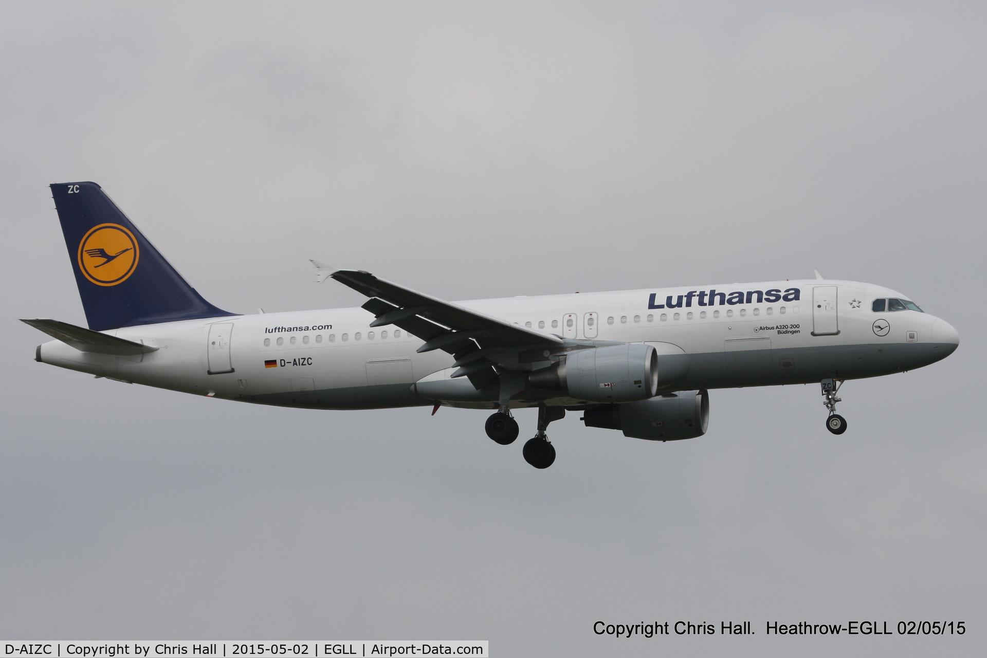 D-AIZC, 2009 Airbus A320-214 C/N 4153, Lufthansa