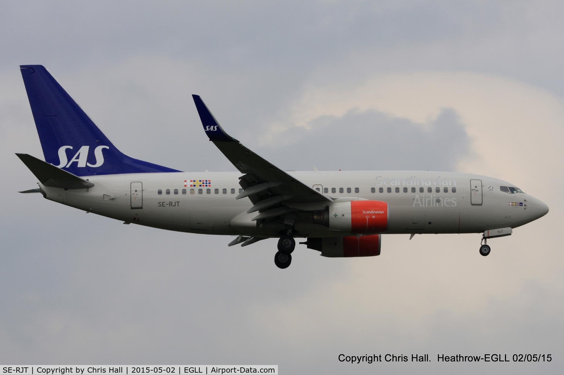 SE-RJT, 2004 Boeing 737-76N C/N 32741, SAS Scandinavian Airlines