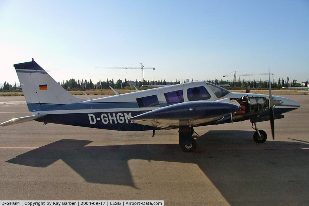 D-GHGM, Piper PA-34-200 C/N 34-7250157, Piper PA-34-200 Seneca [34-7250157] Palma-Son Bonet~EC 17/09/2004