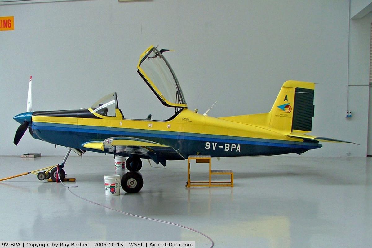 9V-BPA, 2002 Pacific Aerospace CT/4E Airtrainer C/N 231, Pacific Aerospace CT/4E Airtrainer [231] (Singapore Youth Flying Club) Seletar~9V 15/10/2006