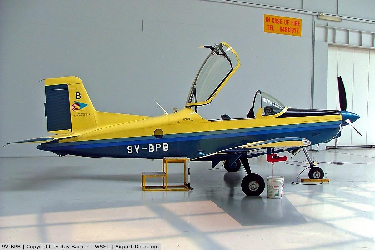9V-BPB, 2002 Pacific Aerospace CT/4E Airtrainer C/N 232, Pacific Aerospace CT/4E Airtrainer [232] (Singapore Youth Flying Club) Seletar~9V 15/10/2006