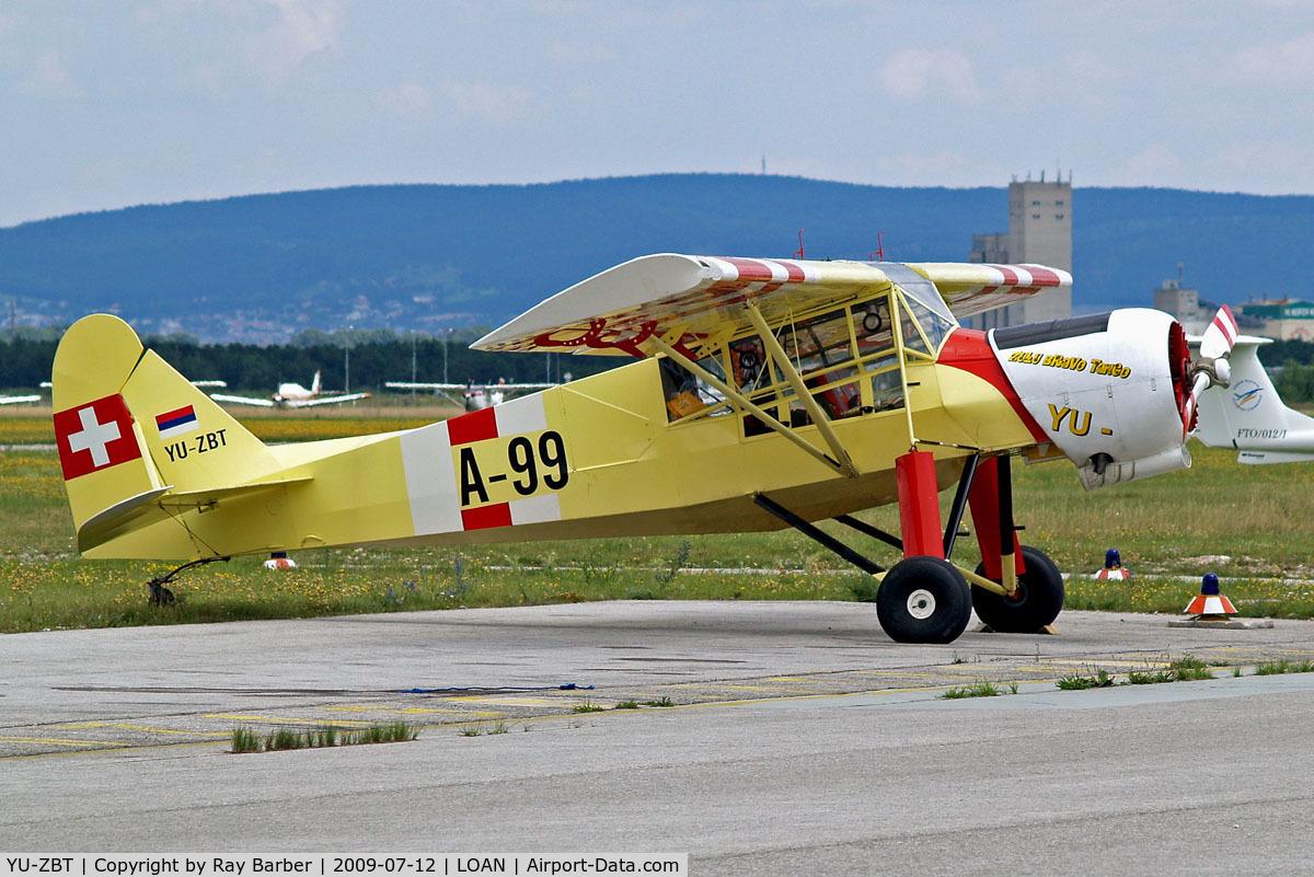 YU-ZBT, Slepcev Storch SS-MK4 C/N SS4-100, Slepcev Storch SS4 [SS4-100] Wiener Neustadt-Ost~OE 12/07/2009