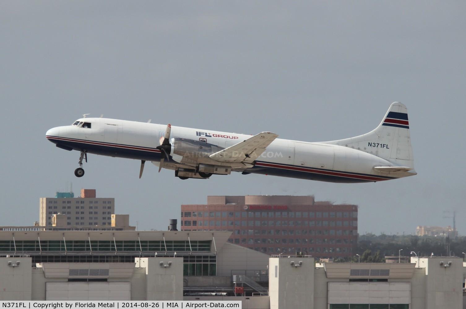 N371FL, 1956 Convair 580 C/N 309, IFL Convair 5800