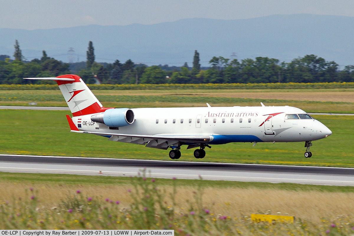 OE-LCP, 2001 Canadair CRJ-200LR (CL-600-2B19) C/N 7480, Canadair CRJ-200LR [7480] (Austrian Arrows) Vienna-Schwechat~OE 13/07/2009