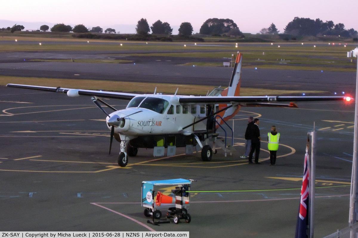 ZK-SAY, Cessna 208B  Grand Caravan C/N 208B0861, At Nelson