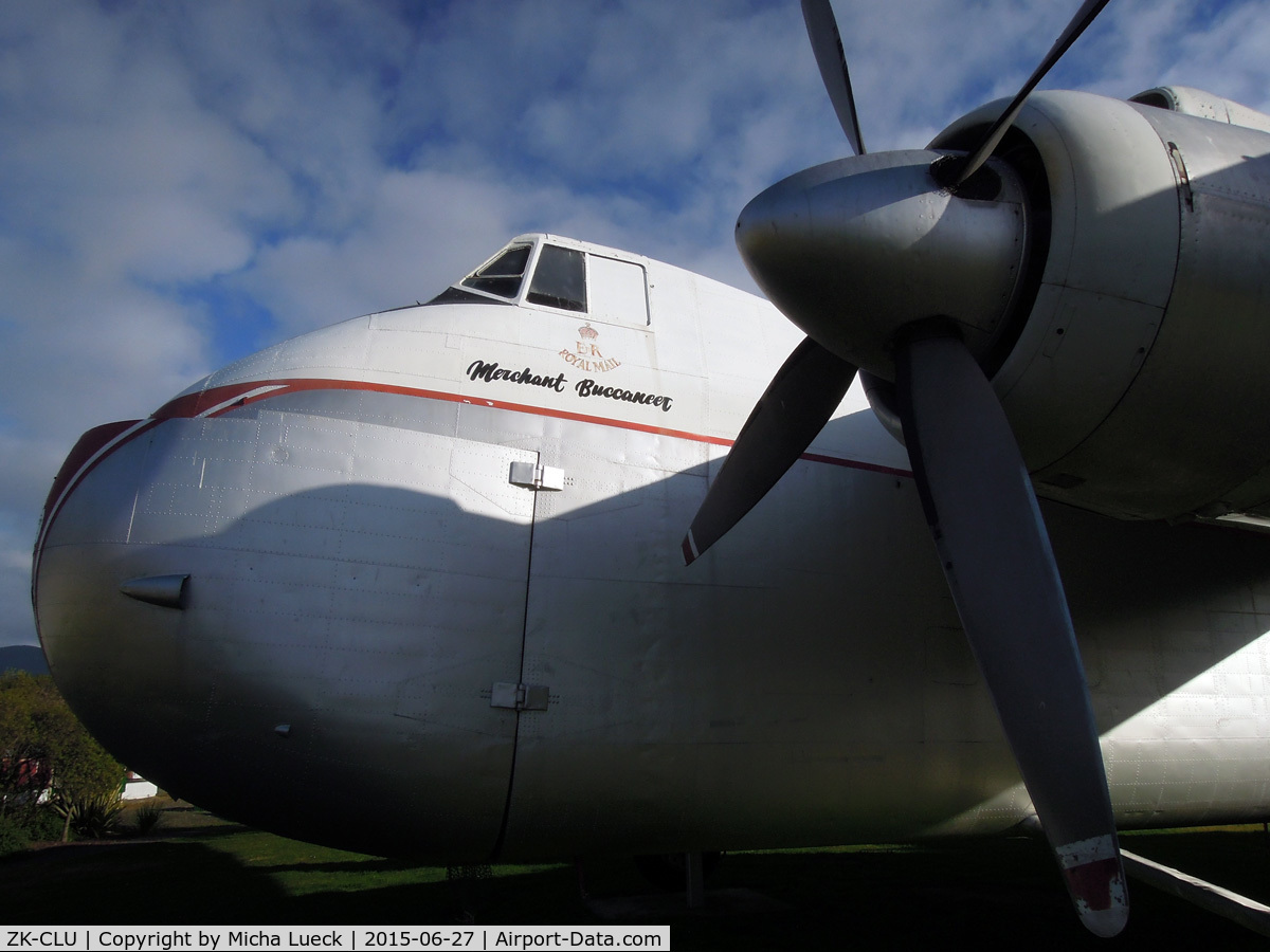ZK-CLU, Bristol 170 Freighter Mk.31M C/N 13156, At Founders Heritage Park, Nelson