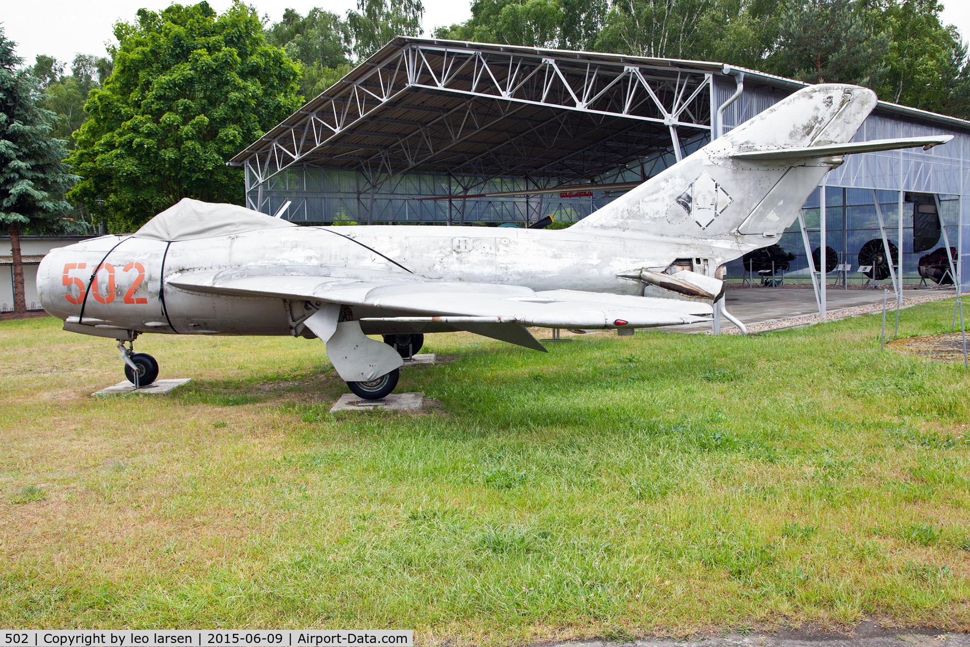 502, PZL-Mielec Lim-5 (MiG-17F) C/N 1C0902, Flugplatzmuseum Cottbus 9.6.15