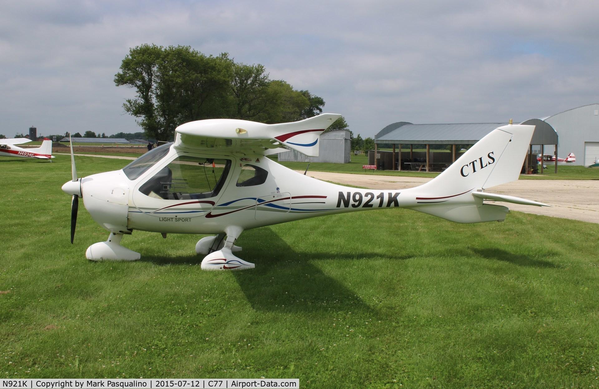 N921K, Flight Design CTLS C/N F-10-01-01, Flight Design CTLS