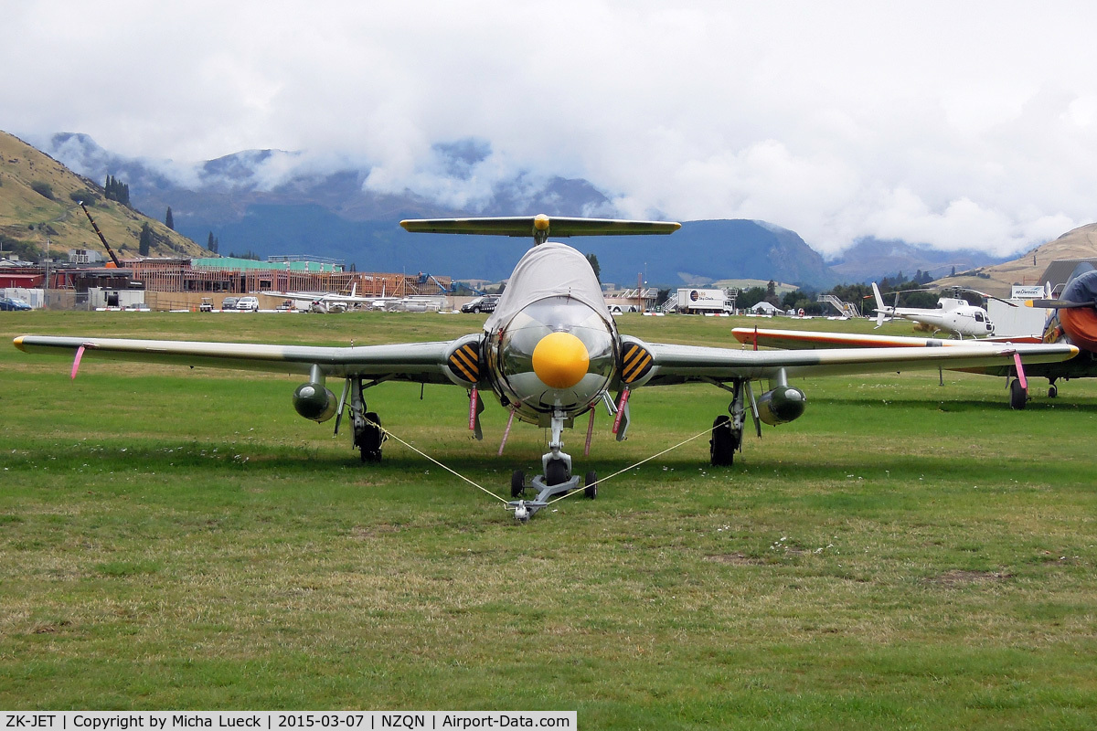 ZK-JET, Aero L-29 Delfin C/N 294892, At Queenstown