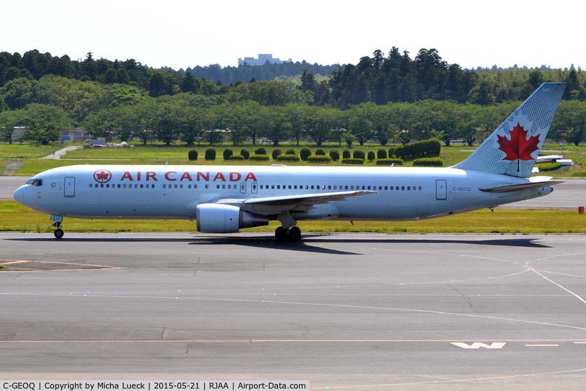 C-GEOQ, 1999 Boeing 767-375/ER C/N 30112, At Narita