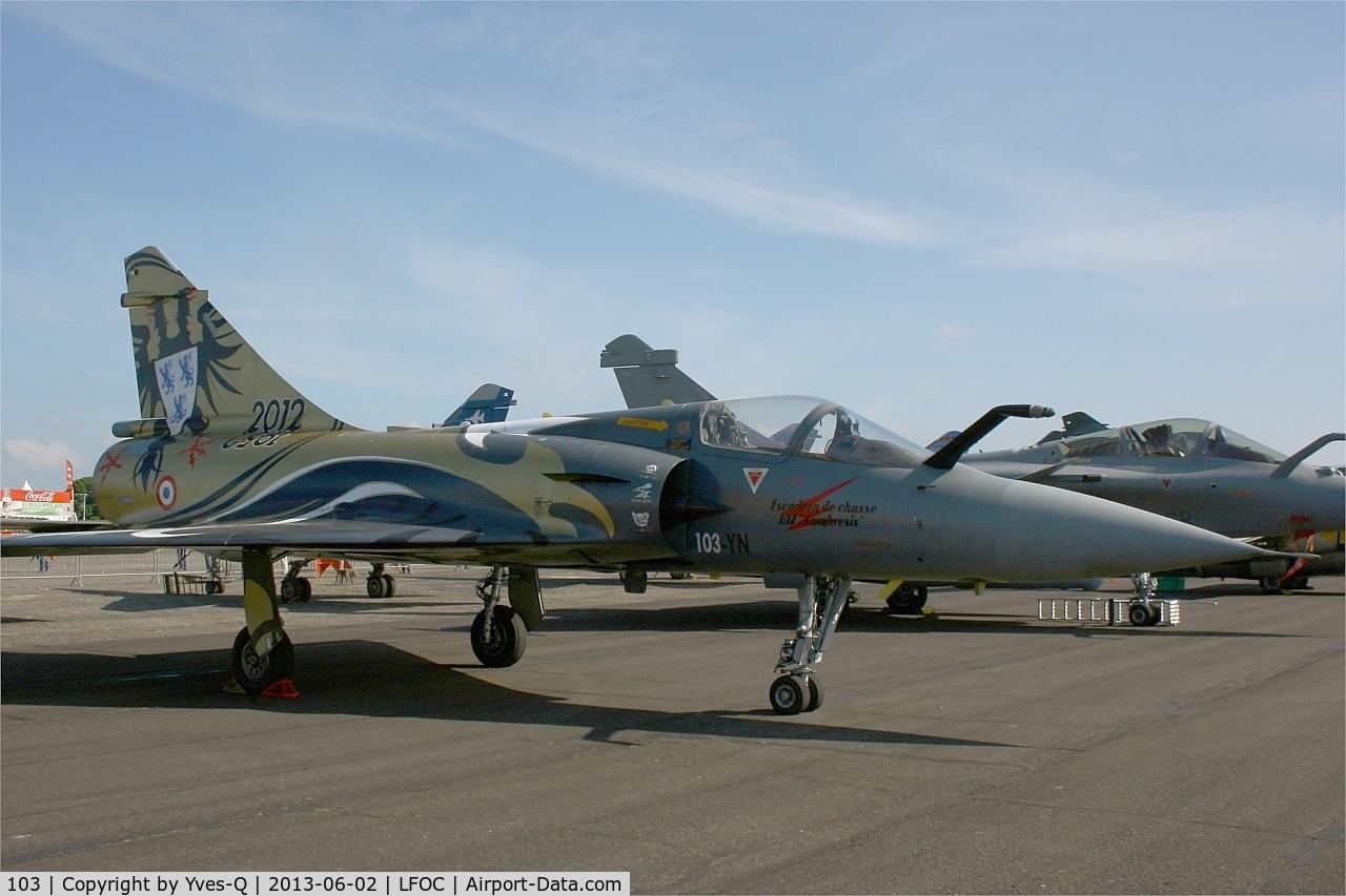 103, Dassault Mirage 2000C C/N 367, Dassault Mirage 2000C, Châteaudun Air Base 279 (LFOC) Open day 2013