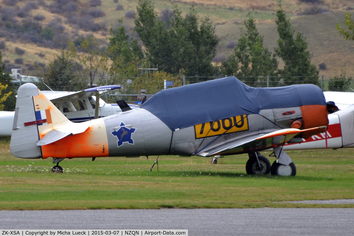 ZK-XSA, North American AT-6A Texan C/N 78-6647, At Queenstown