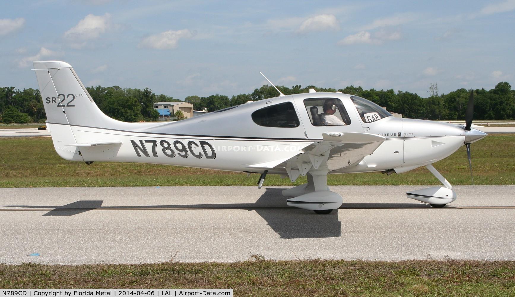N789CD, Cirrus SR22 GTS C/N 3567, Cirrus SR22