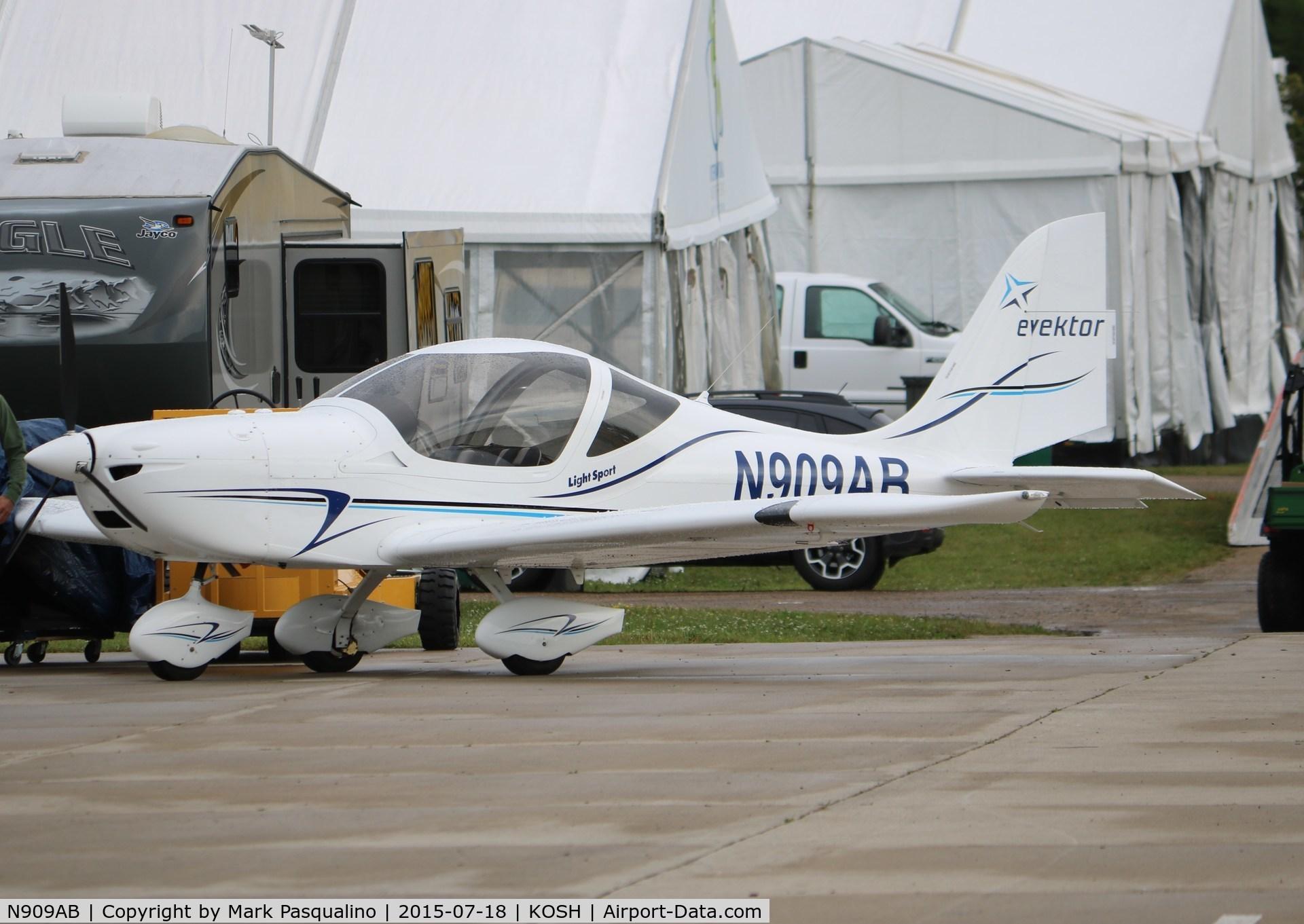 N909AB, 2013 Evektor-Aerotechnik Harmony LSA C/N 2013-1614, Evektor Harmony LSA