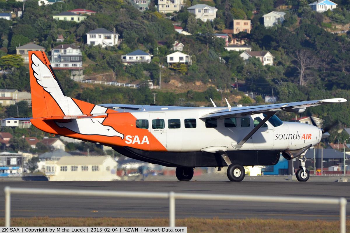 ZK-SAA, Cessna 208B Grand Caravan C/N 208B0862, At Wellington