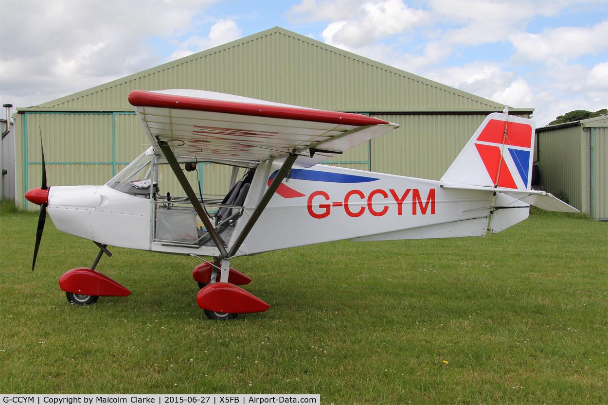 G-CCYM, 2004 Best Off Skyranger 912(2) C/N BMAA/HB/390, Best Off Skyranger 912(2) at Fishburn Airfield, June 27th 2015.