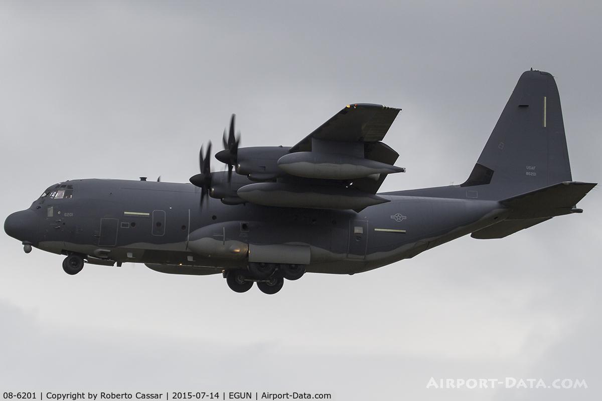 08-6201, 2008 Lockheed Martin MC-130J Commando II C/N 382-5680, Mildenhall