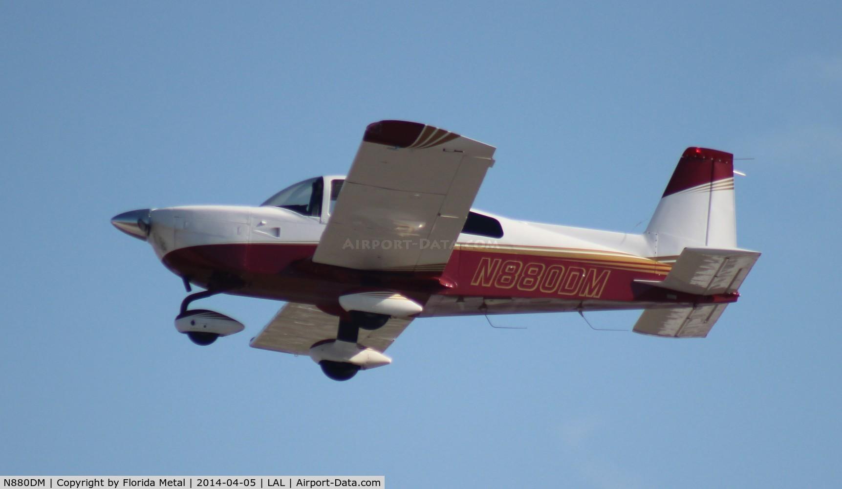 N880DM, Grumman American AA-5B Tiger C/N AA5B-0880, Grumman AA-5B