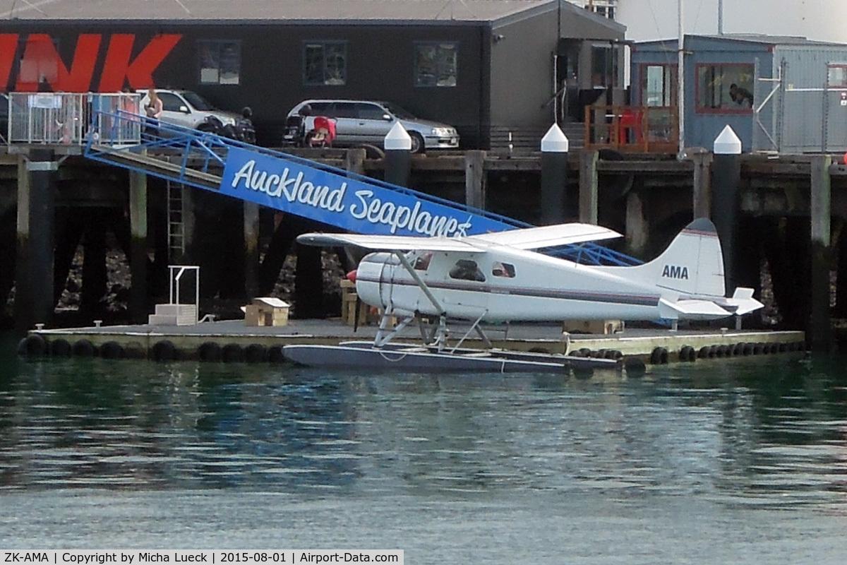 ZK-AMA, 1963 De Havilland Canada DHC-2 Beaver Mk.1 C/N 1477, At the Viaduct Harbour/Wynyard Quarter