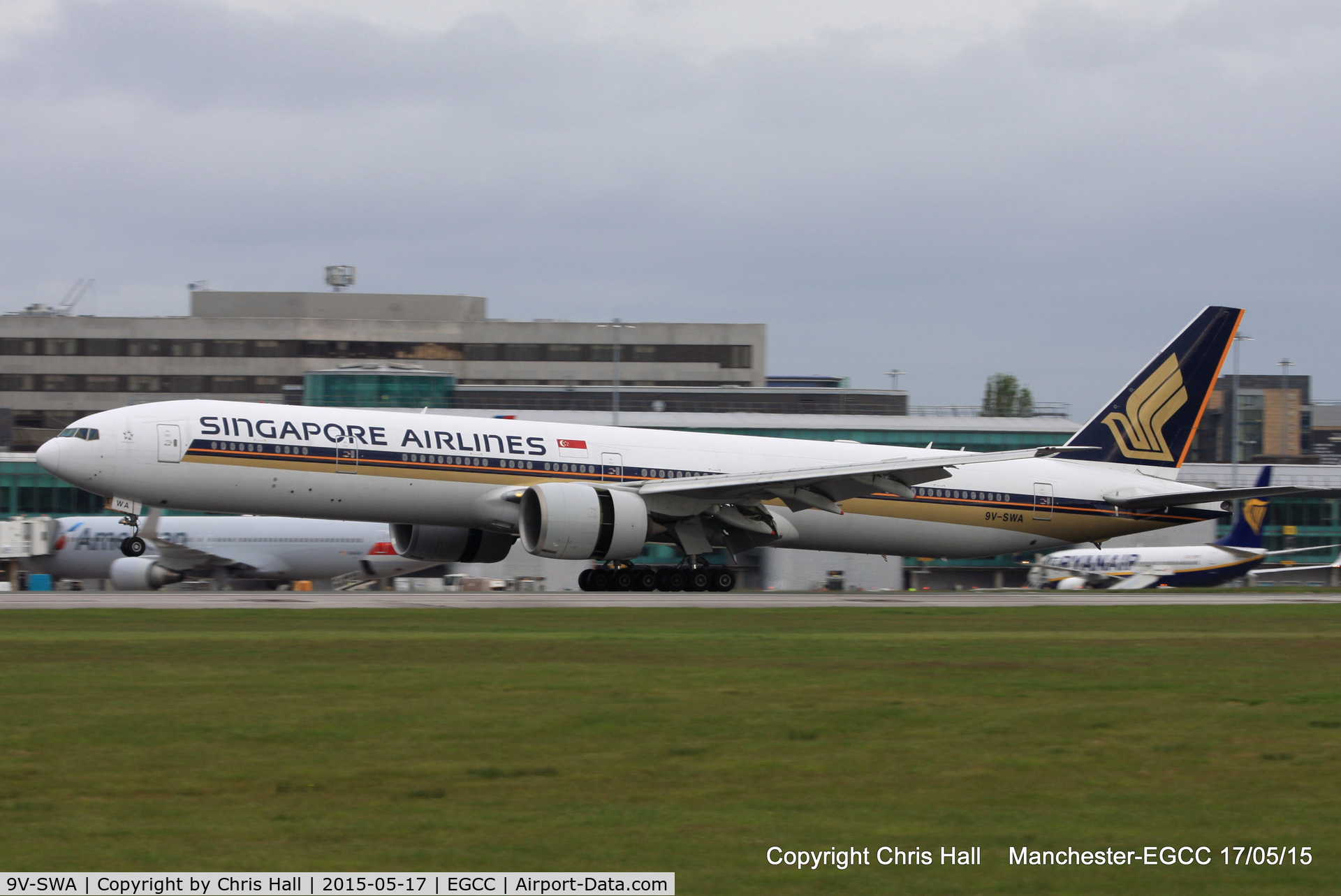 9V-SWA, 2006 Boeing 777-312/ER C/N 34568, Singapore Airlines