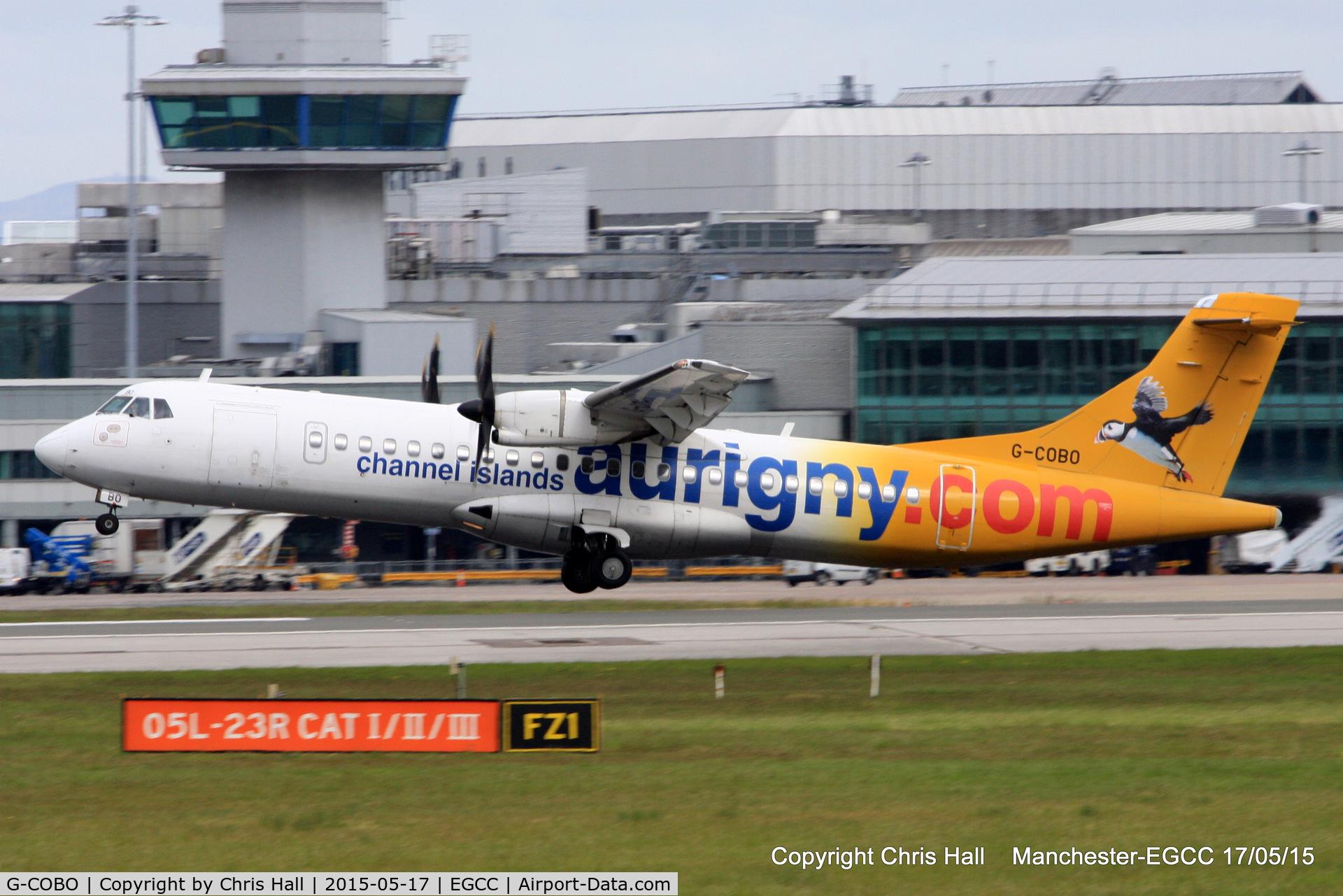 G-COBO, 2008 ATR 72-212A C/N 852, Aurigny Air Services