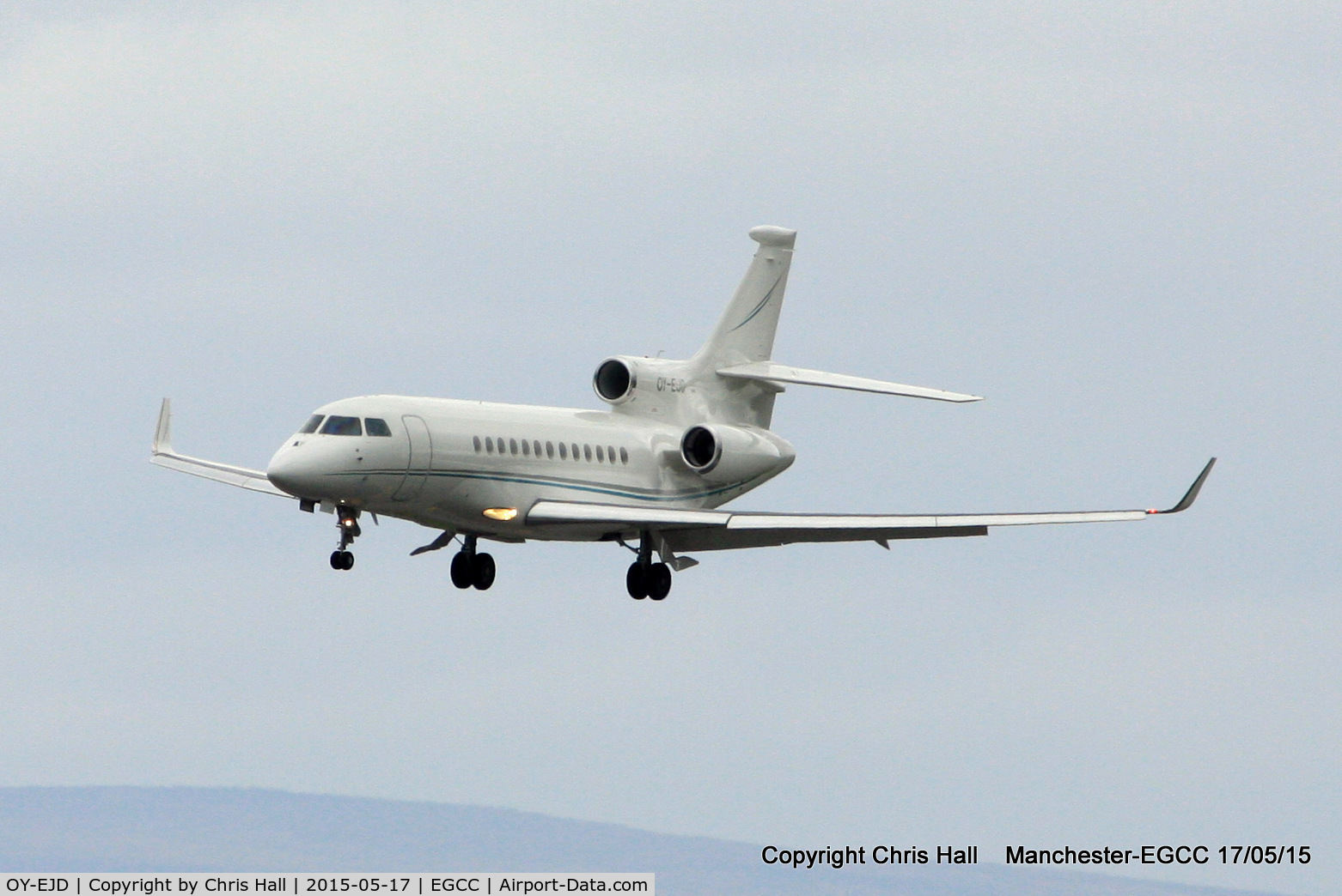 OY-EJD, 2005 Dassault Falcon 2000EX C/N 63, Air Alsie