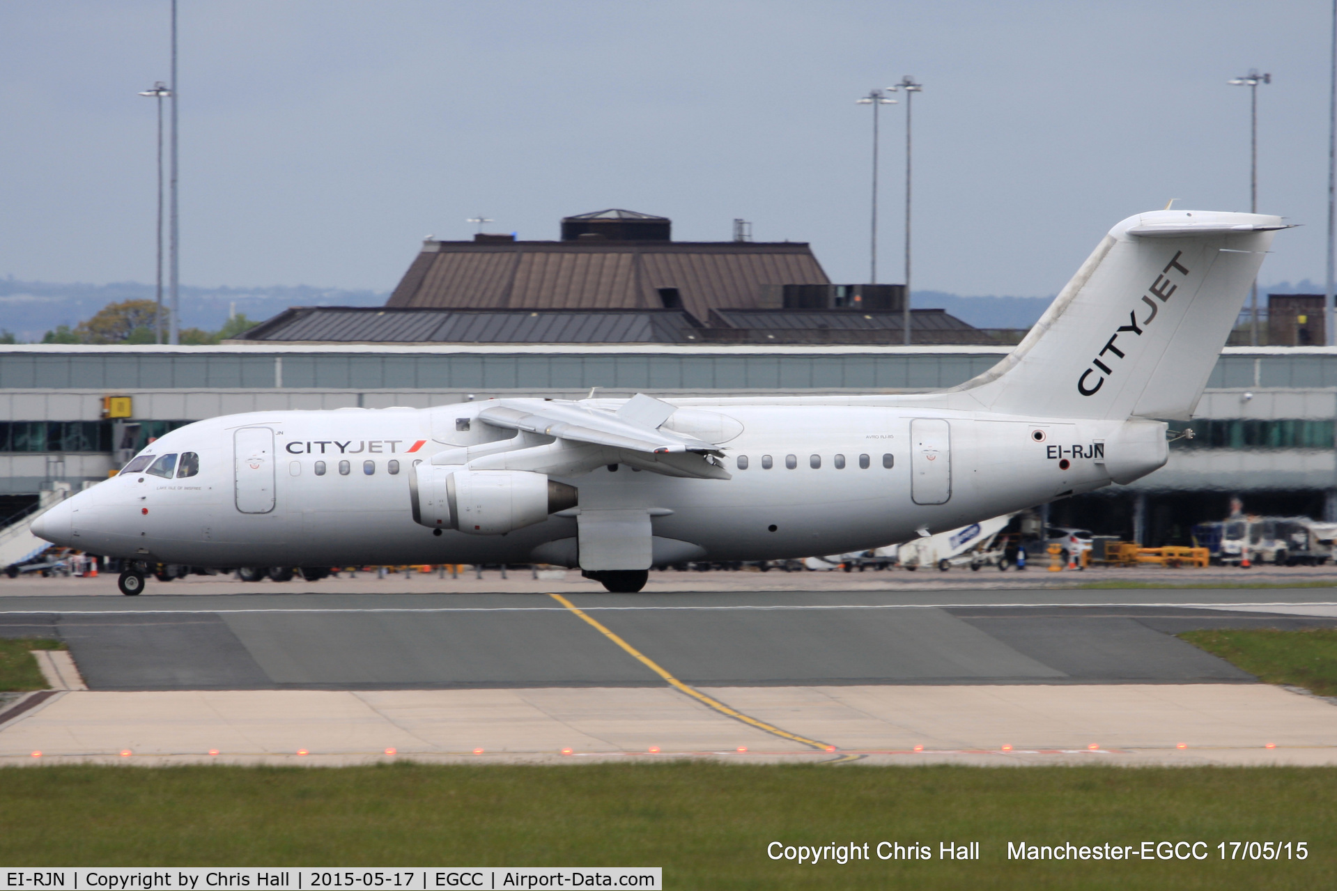EI-RJN, 1999 BAE Systems Avro 146-RJ85 C/N E.2351, Cityjet