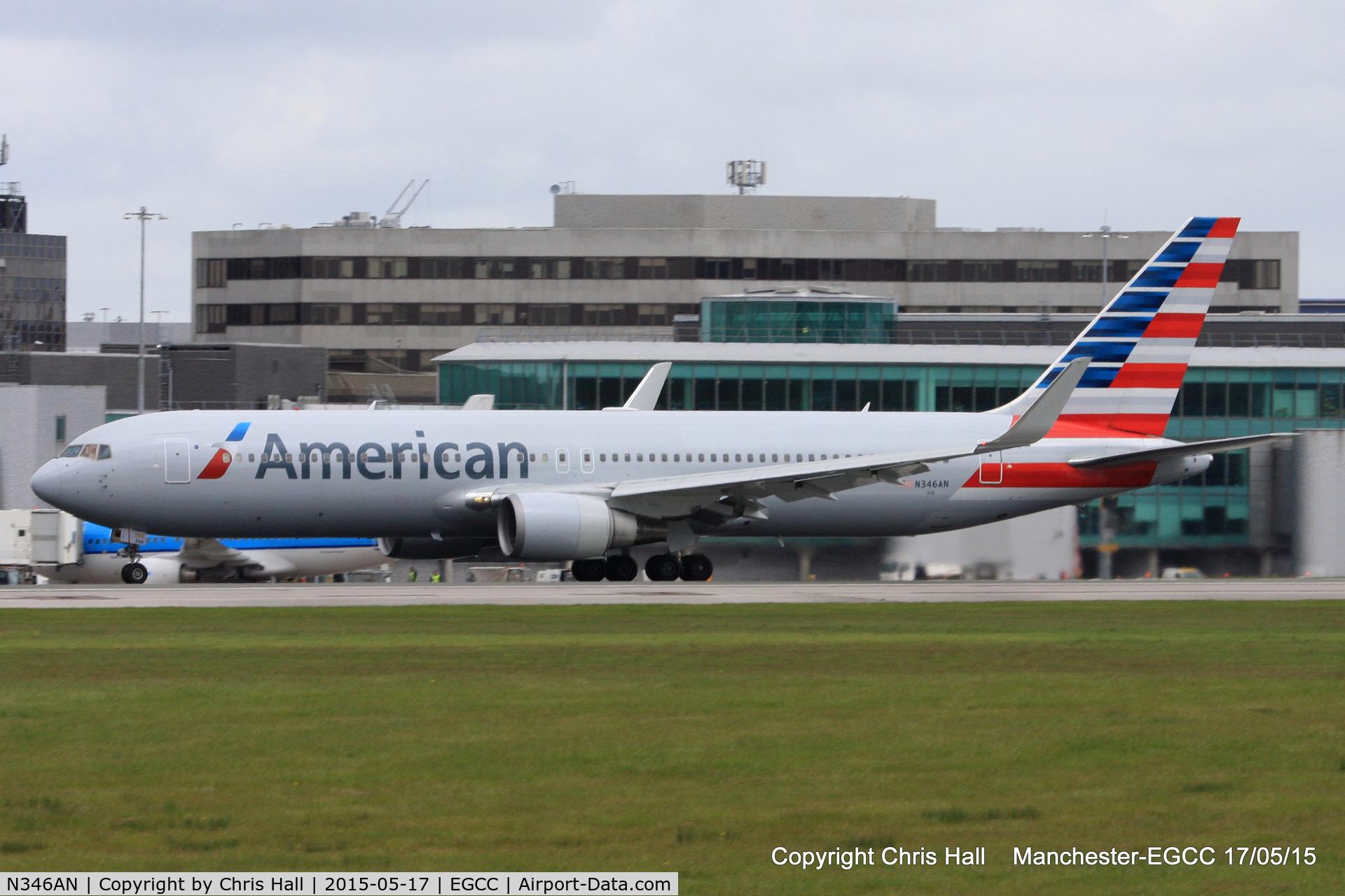 N346AN, 2003 Boeing 767-323 C/N 33085, American Airlines