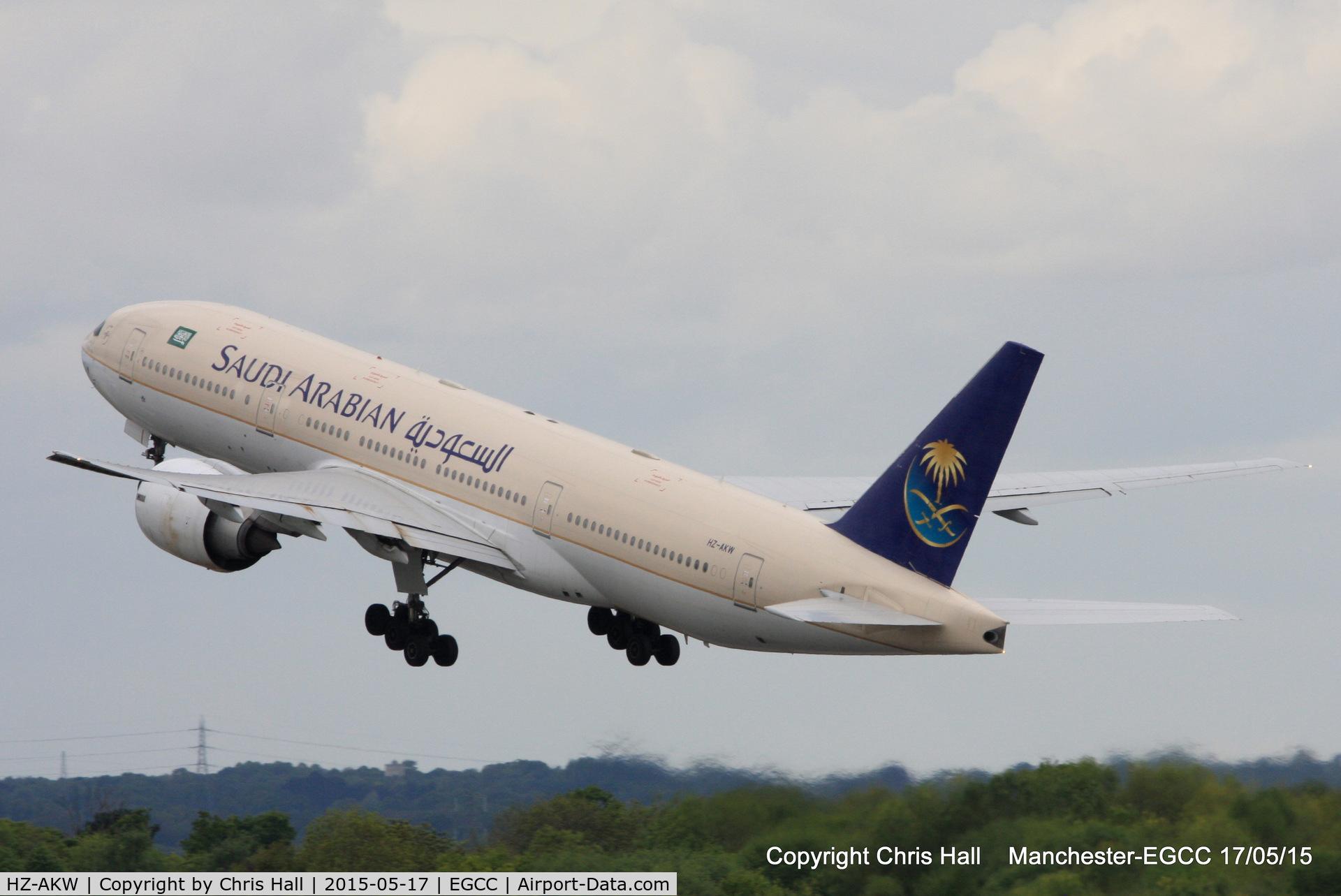 HZ-AKW, 2001 Boeing 777-268/ER C/N 28366, Saudi Arabian Airlines