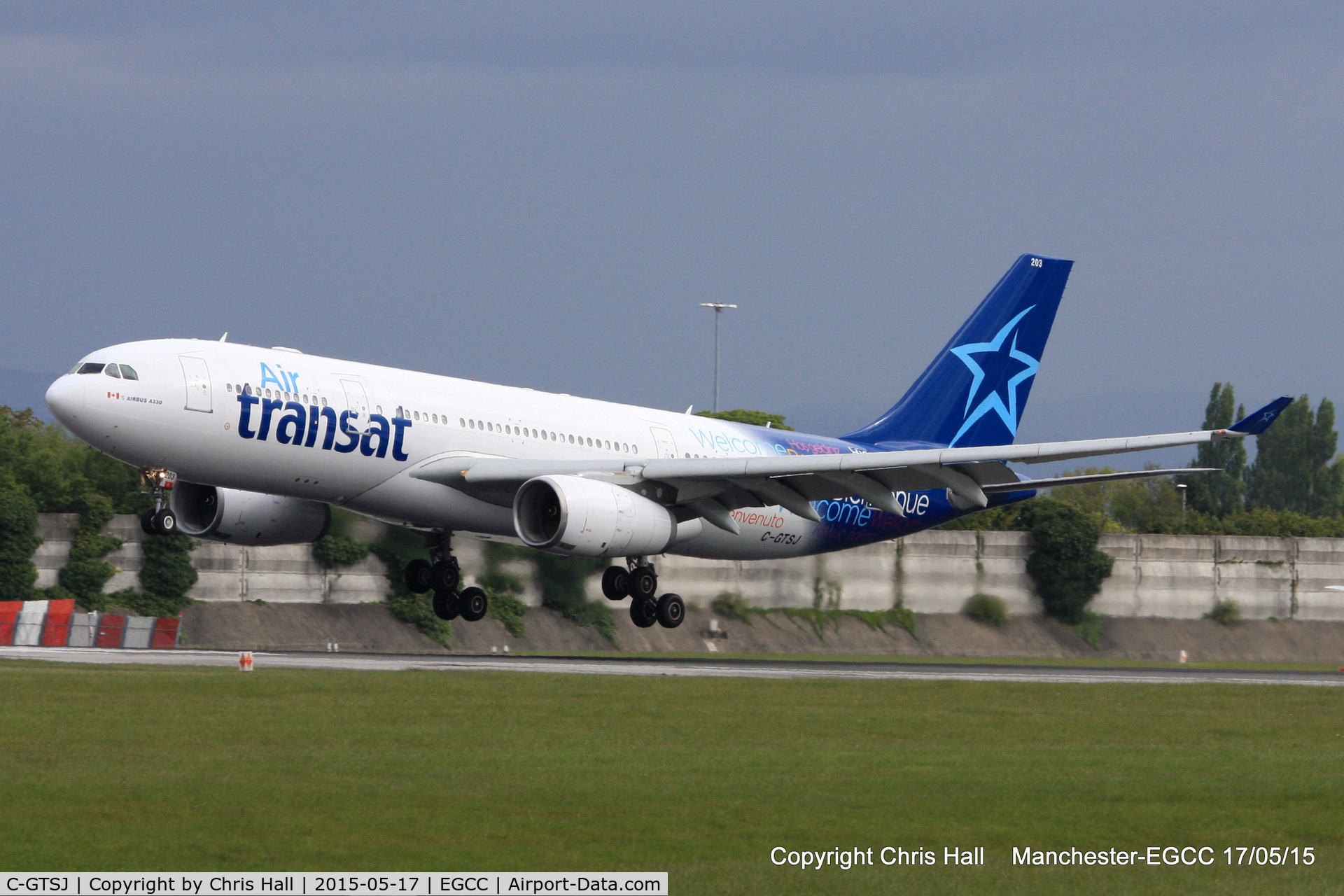 C-GTSJ, 2006 Airbus A330-243 C/N 795, Air Transat