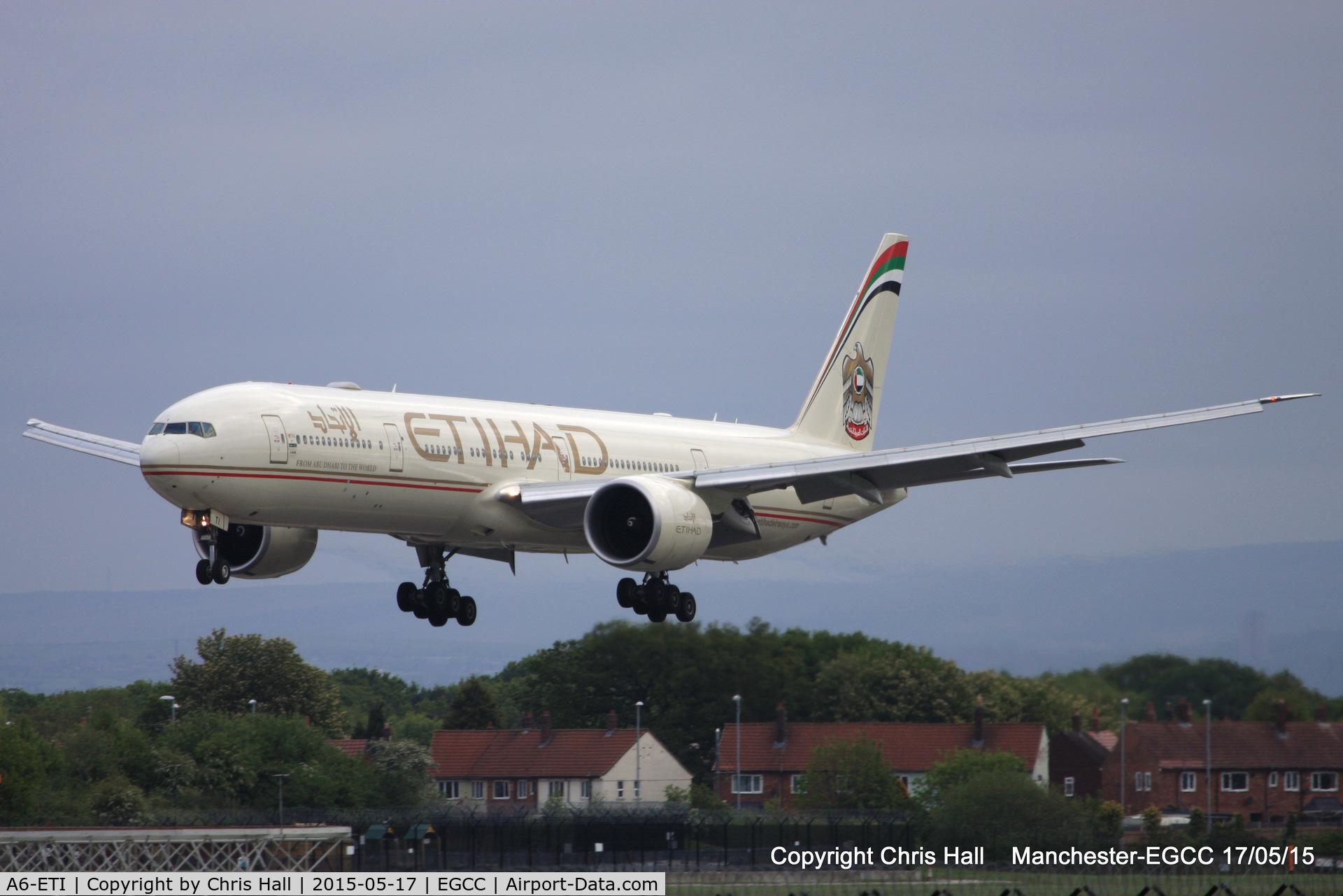 A6-ETI, 2011 Boeing 777-3FX/ER C/N 39684, Etihad