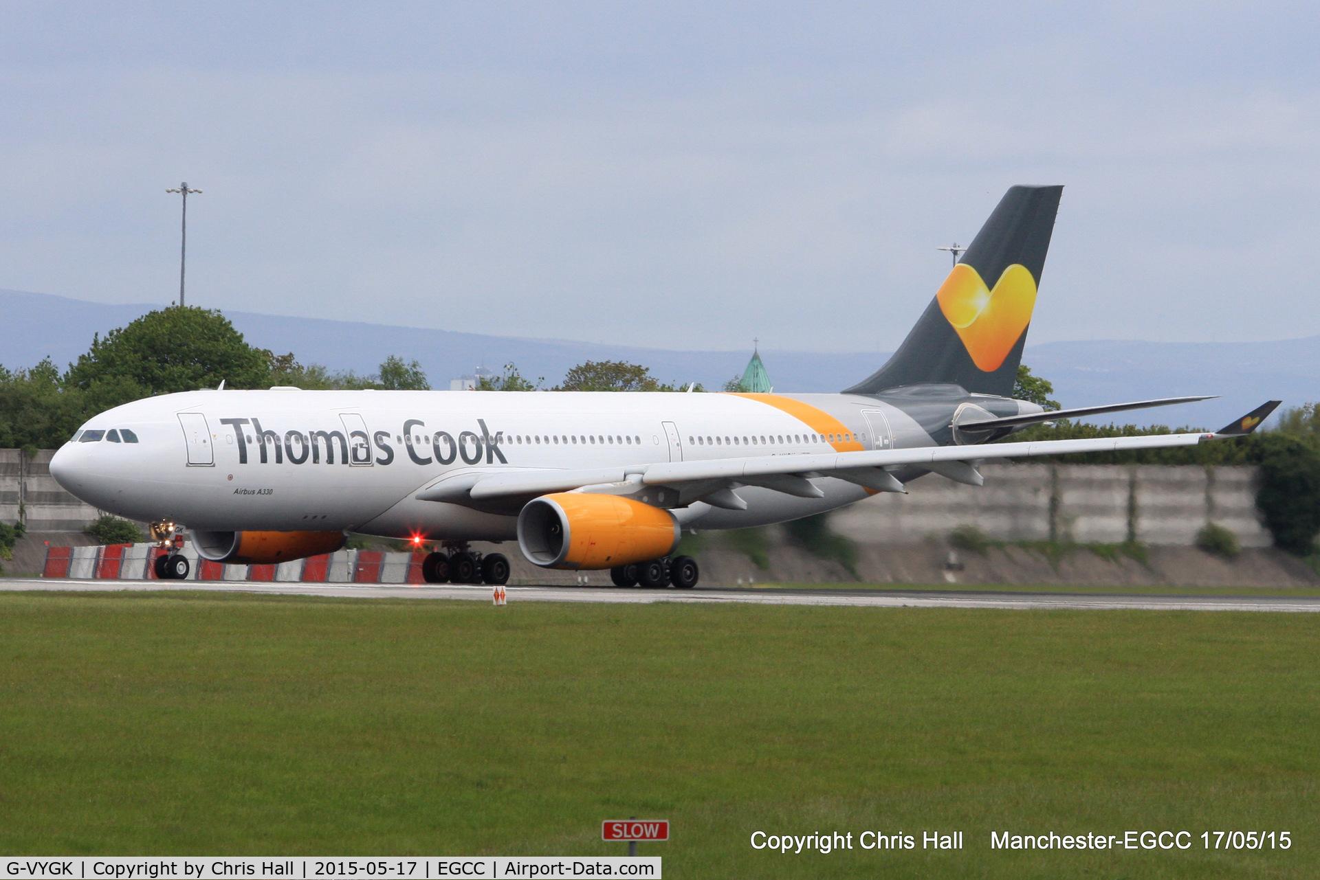 G-VYGK, 2014 Airbus A330-243 C/N 1498, Thomas Cook