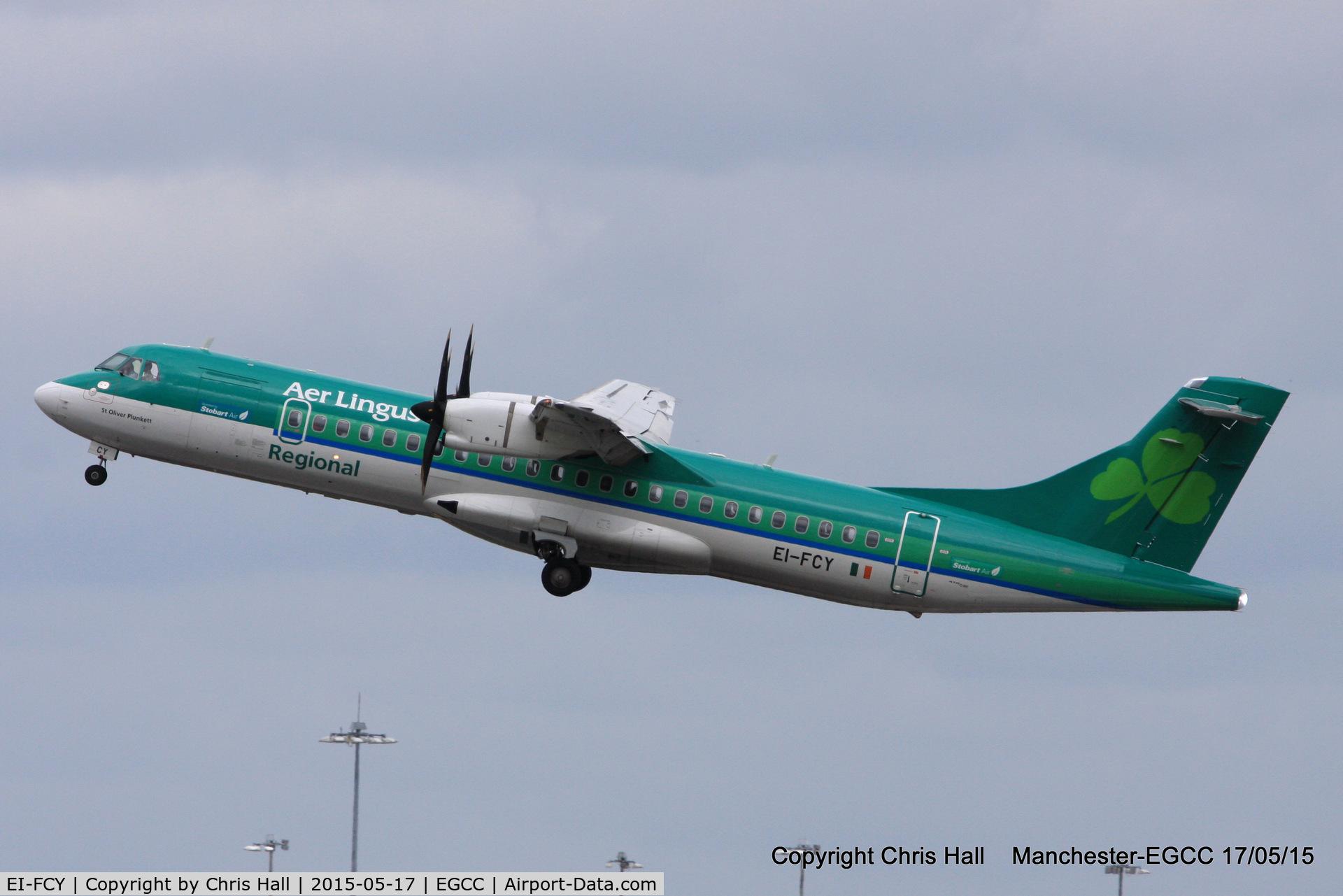 EI-FCY, 2014 ATR 72-600 C/N 1139, Aer Lingus Regional
