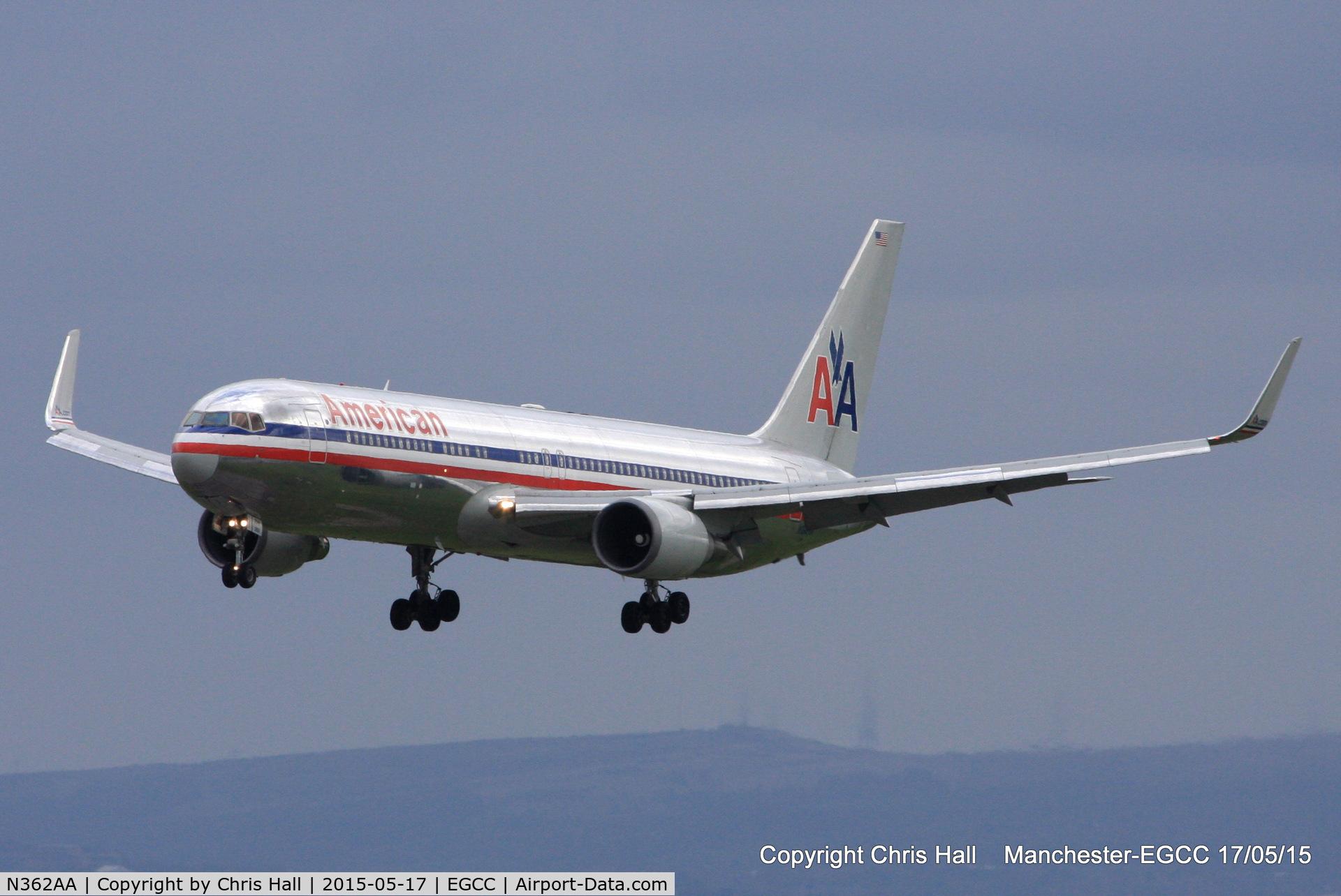 N362AA, 1988 Boeing 767-323 C/N 24043, American Airlines