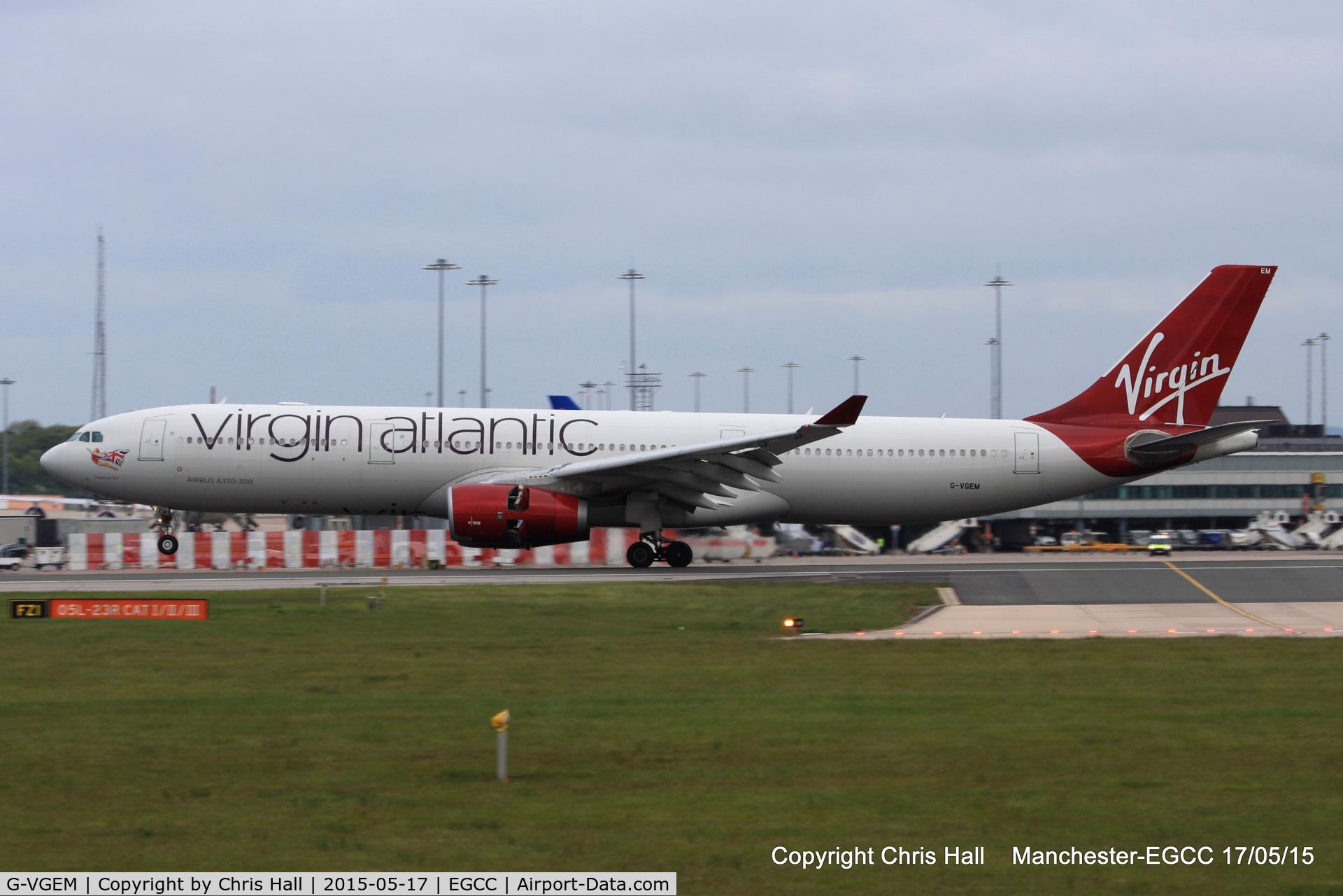 G-VGEM, 2011 Airbus A330-343X C/N 1215, Virgin Atlantic