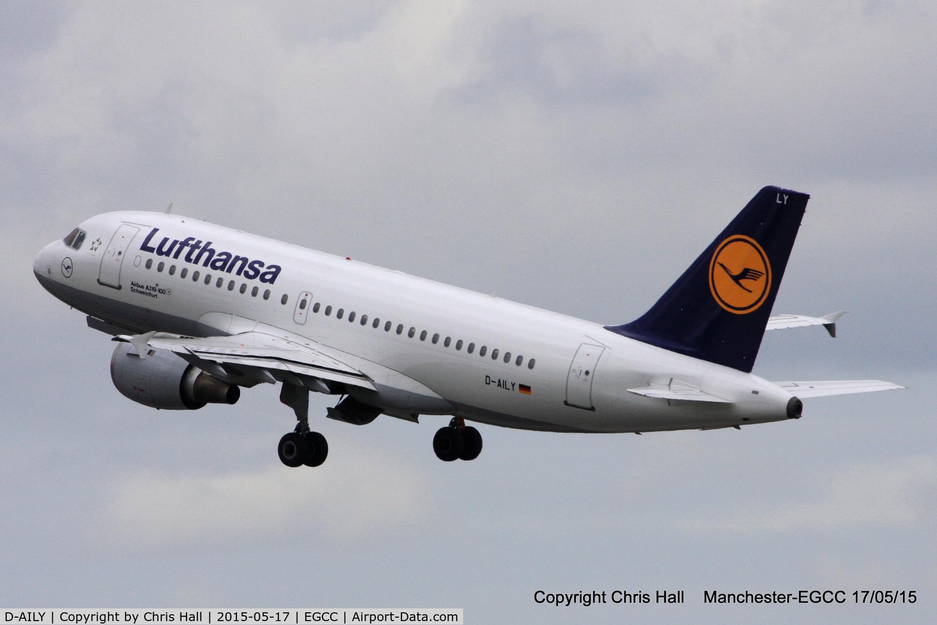 D-AILY, 1998 Airbus A319-114 C/N 875, Lufthansa