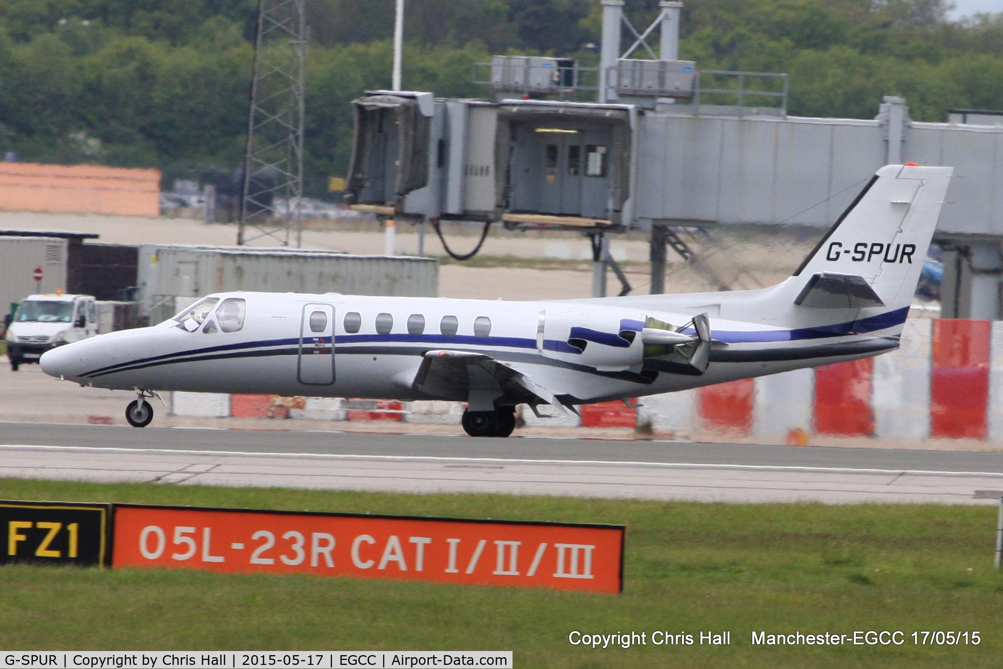 G-SPUR, 1992 Cessna 550 Citation II C/N 550-0714, London Executive Aviation