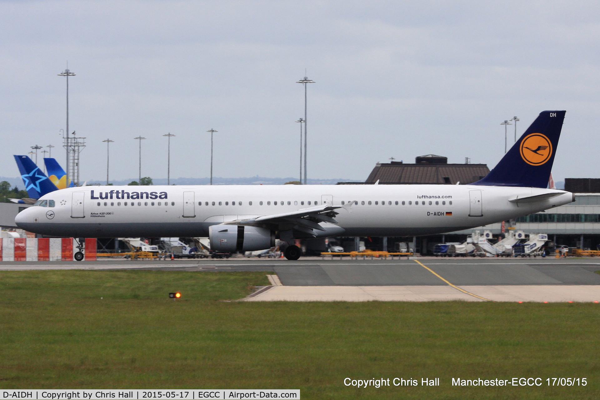 D-AIDH, 2011 Airbus A321-231 C/N 4710, Lufthansa
