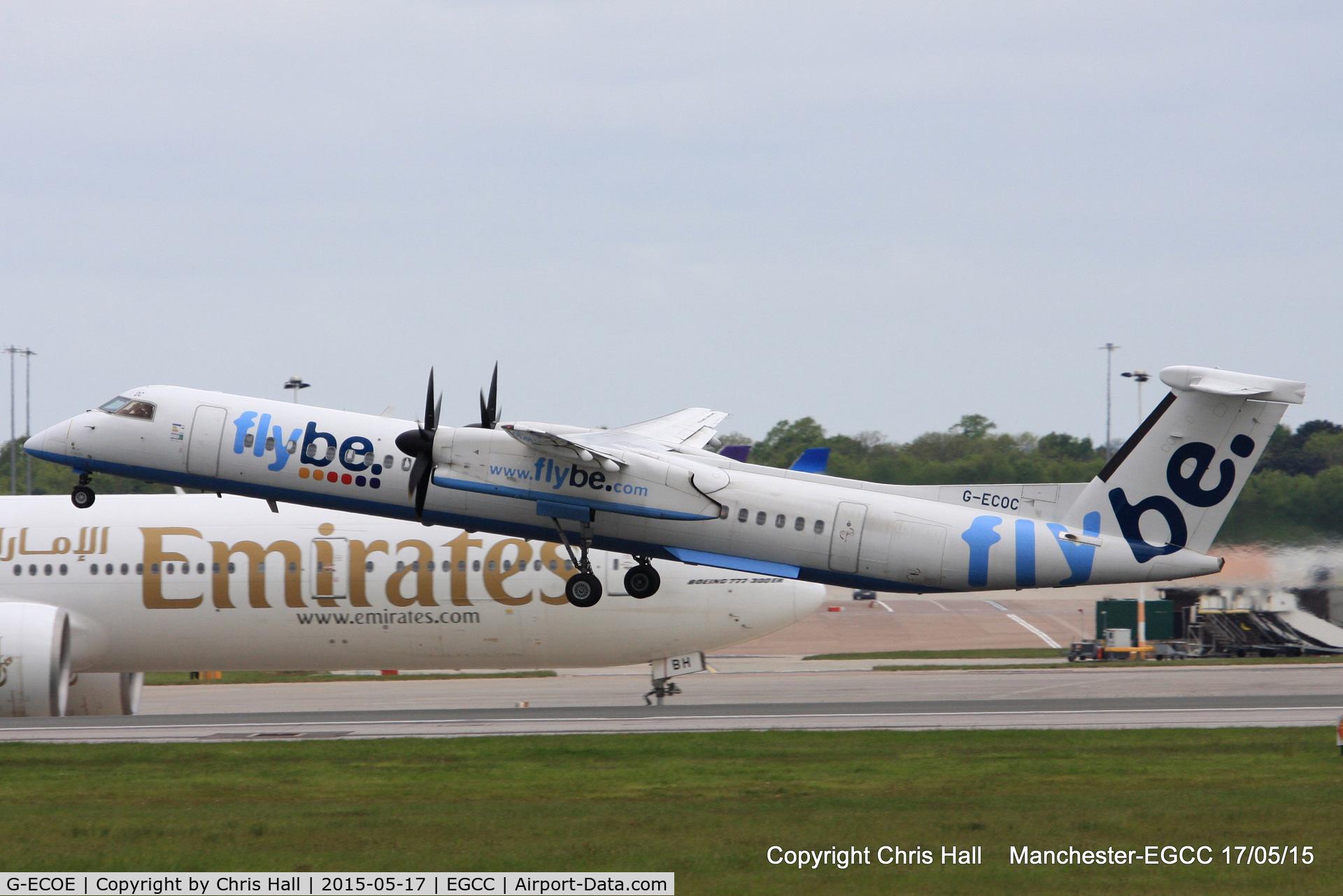 G-ECOE, 2008 De Havilland Canada DHC-8-402Q Dash 8 C/N 4212, flybe