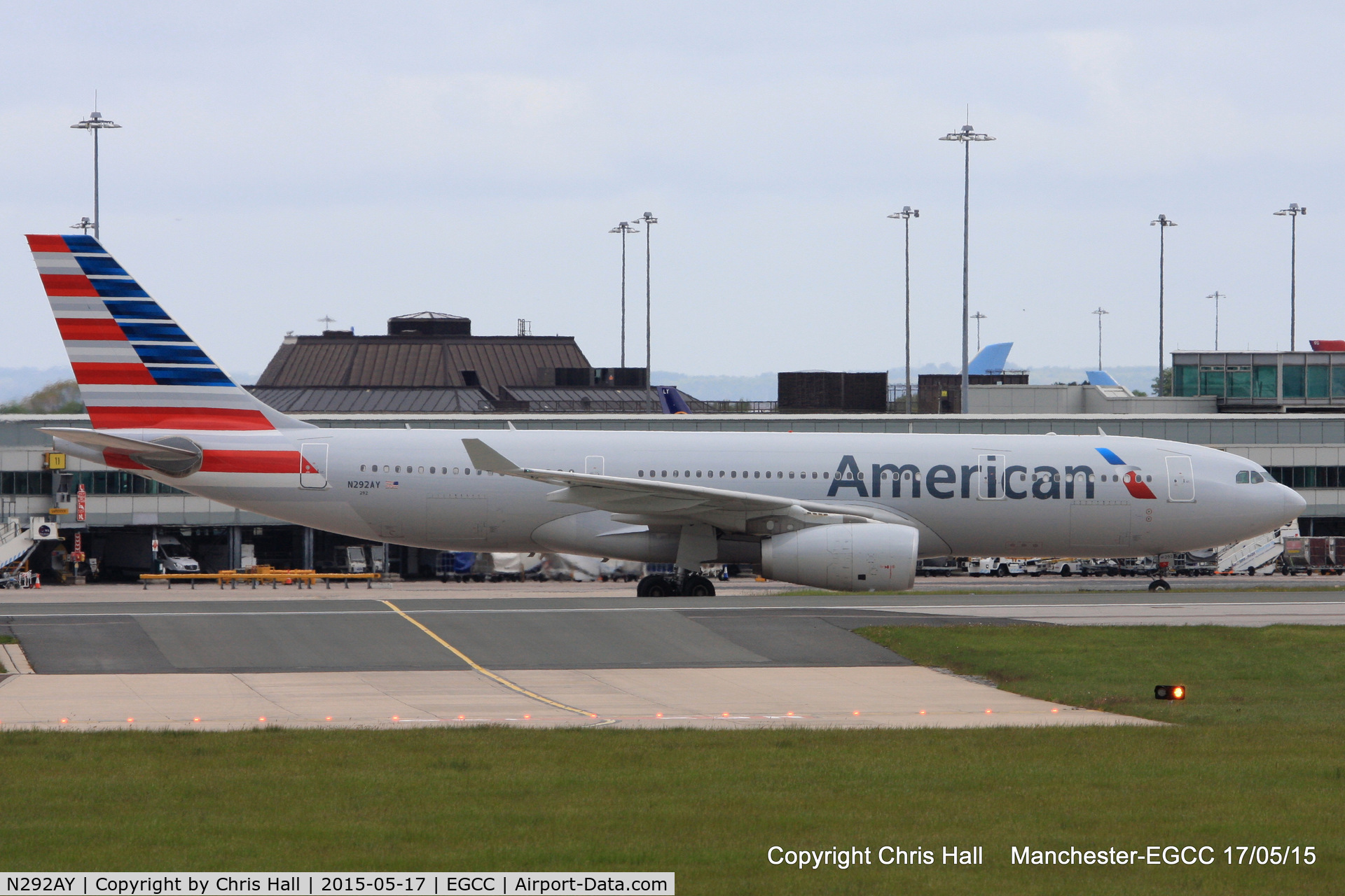 N292AY, 2014 Airbus A330-243 C/N 1512, American Airlines
