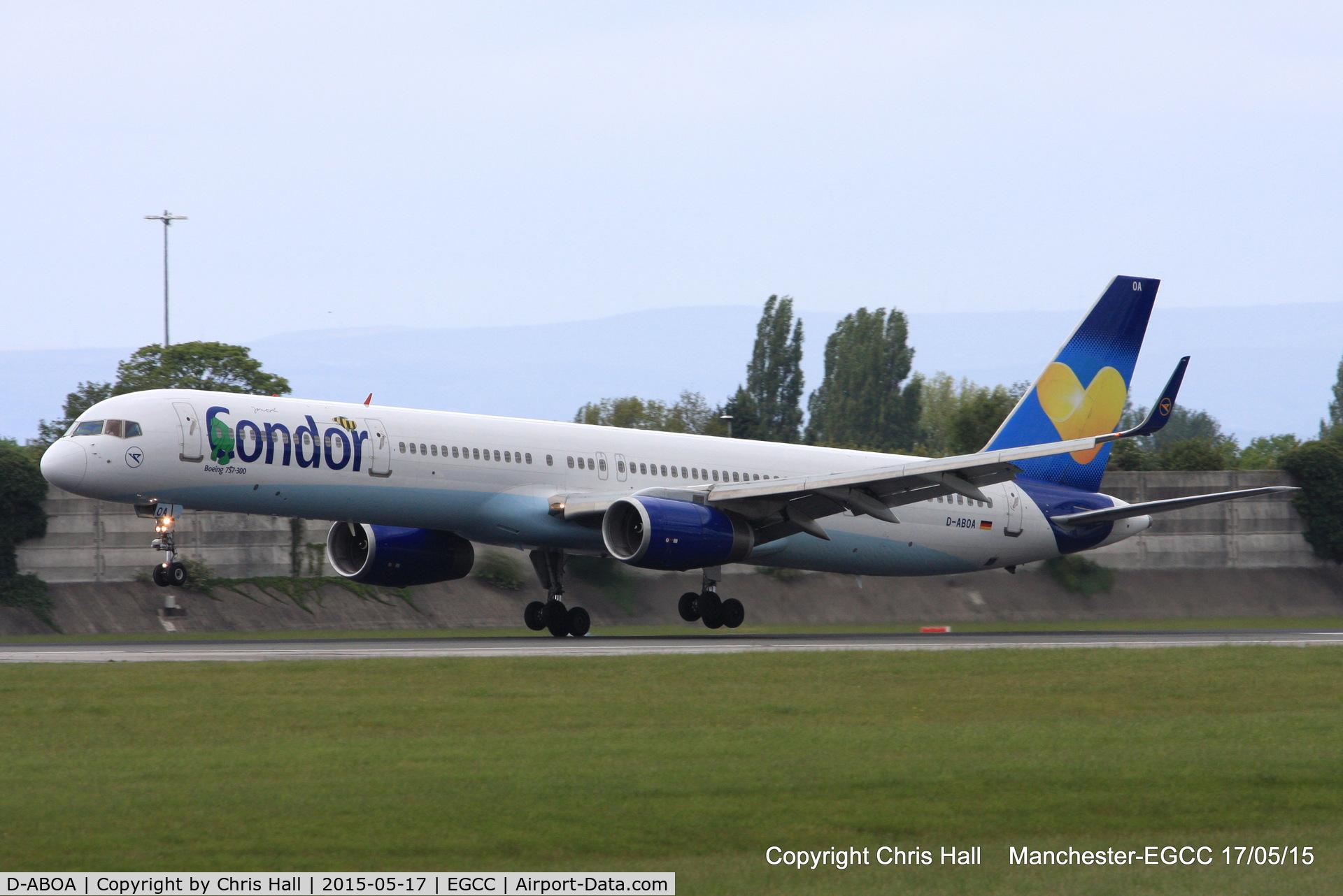 D-ABOA, 1998 Boeing 757-330 C/N 29016, Condor