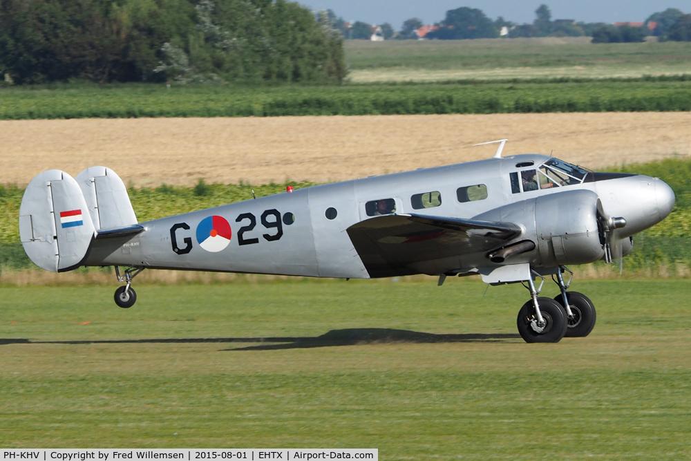 PH-KHV, 1952 Beech Expeditor 3NM (D18S) C/N A-904/CA-254, G-29