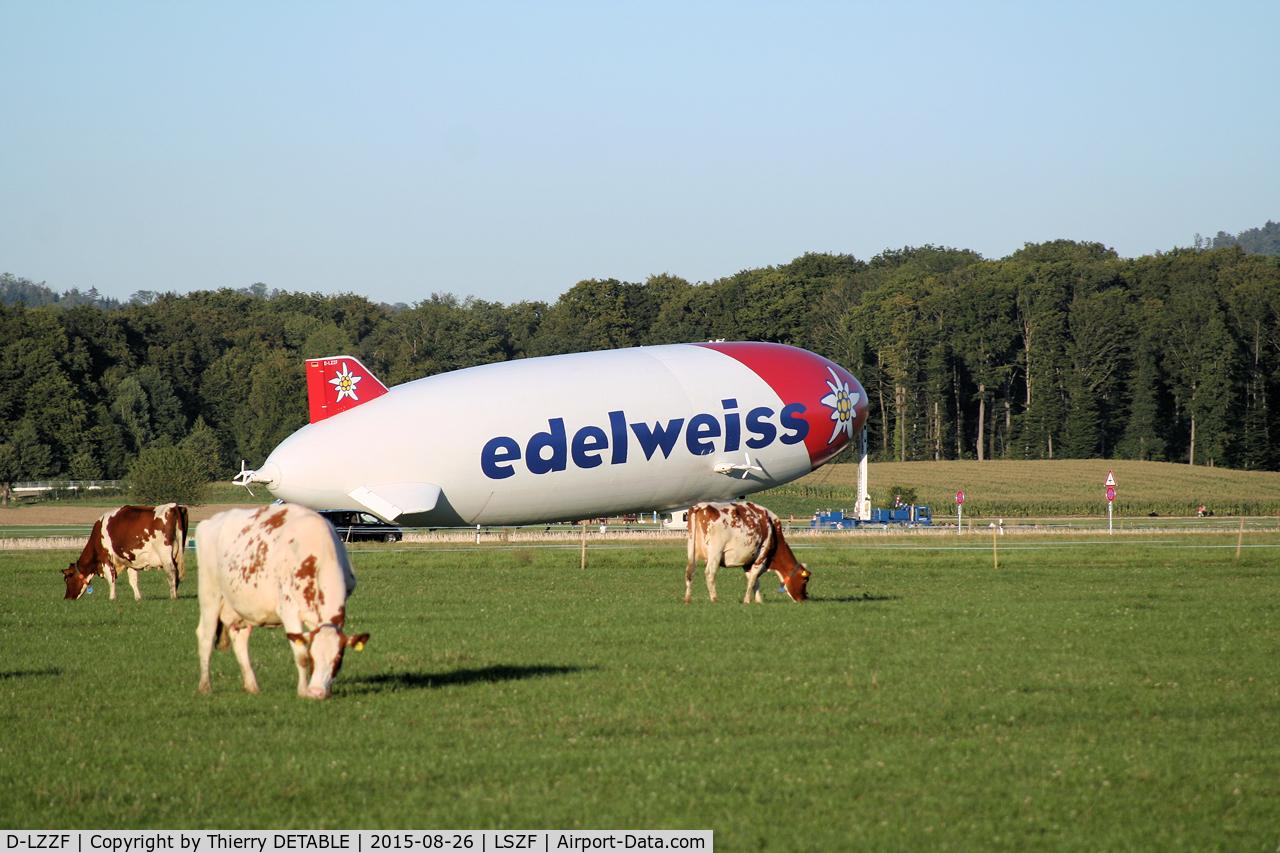 D-LZZF, 1998 Zeppelin LZ-N07 C/N 3, A Zeppelin campaign in Switzerland