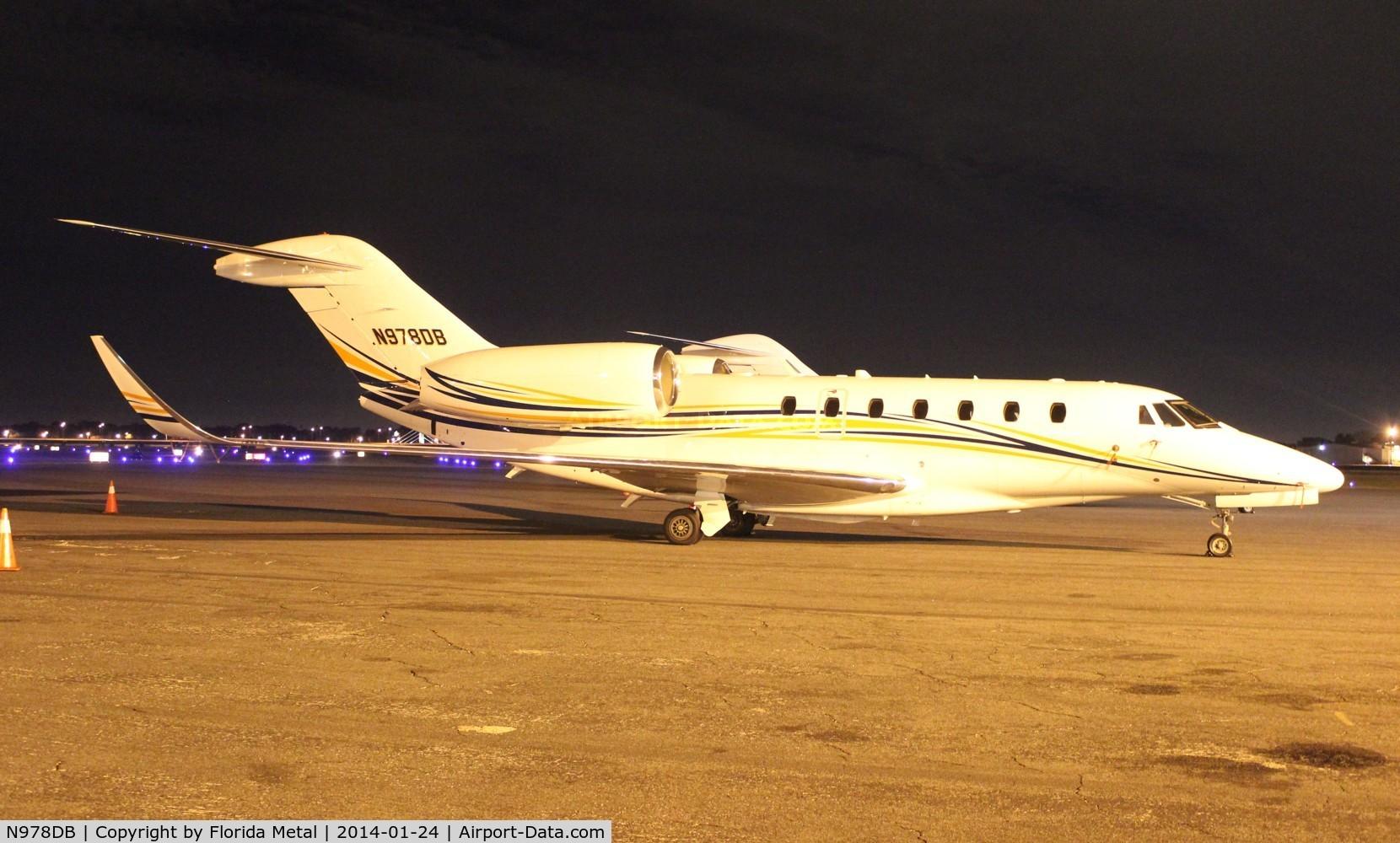 N978DB, 1996 Cessna 750 C/N 750-0009, Citation X