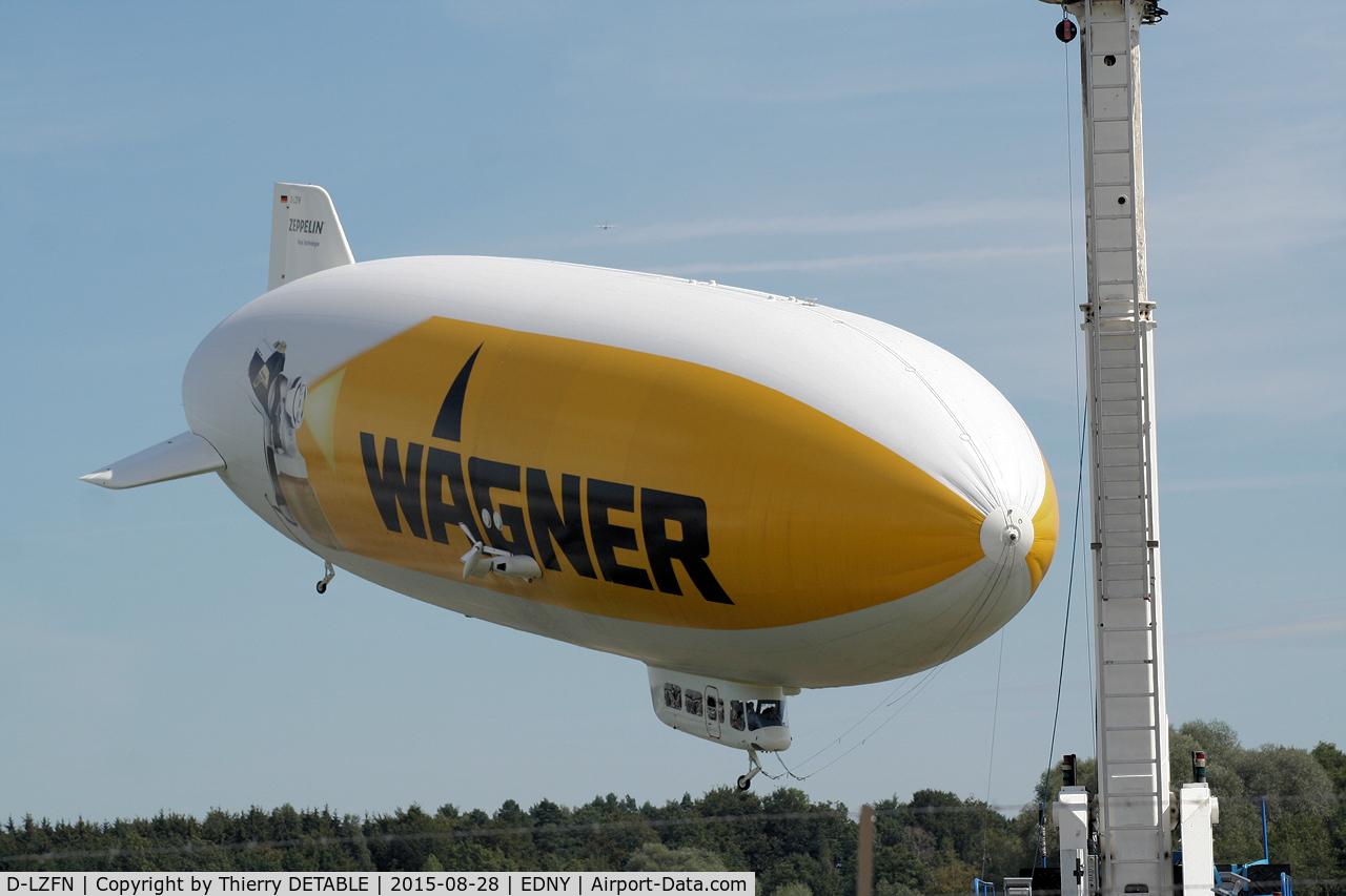 D-LZFN, 1997 Zeppelin LZ N07-100 Airship C/N 001, Wagner 2015