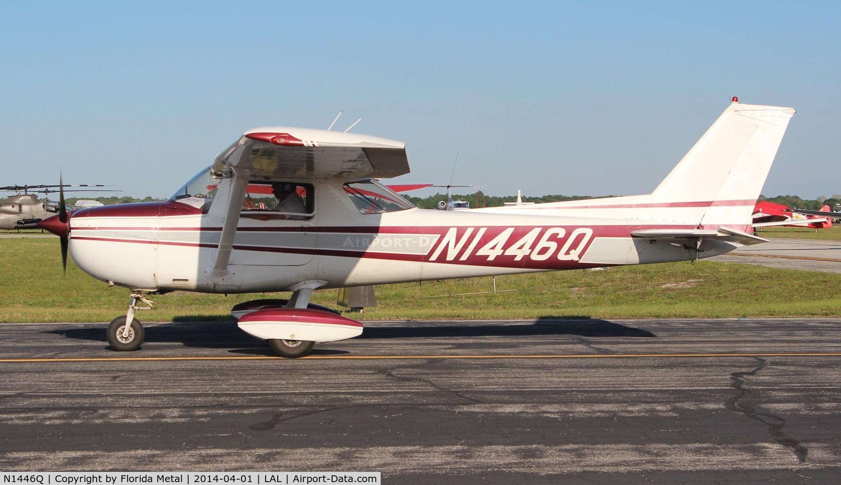 N1446Q, 1971 Cessna 150L C/N 15072746, Cessna 150L