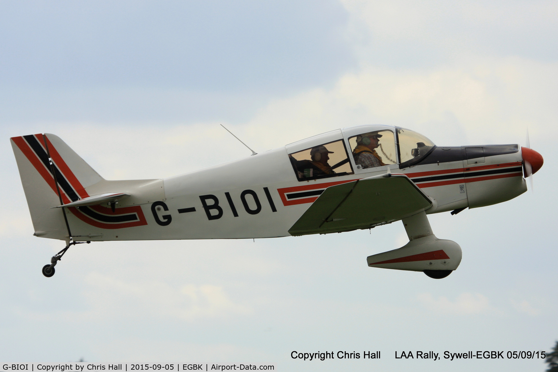G-BIOI, 1964 SAN Jodel DR-1050M Excellence C/N 477, at the LAA Rally 2015, Sywell