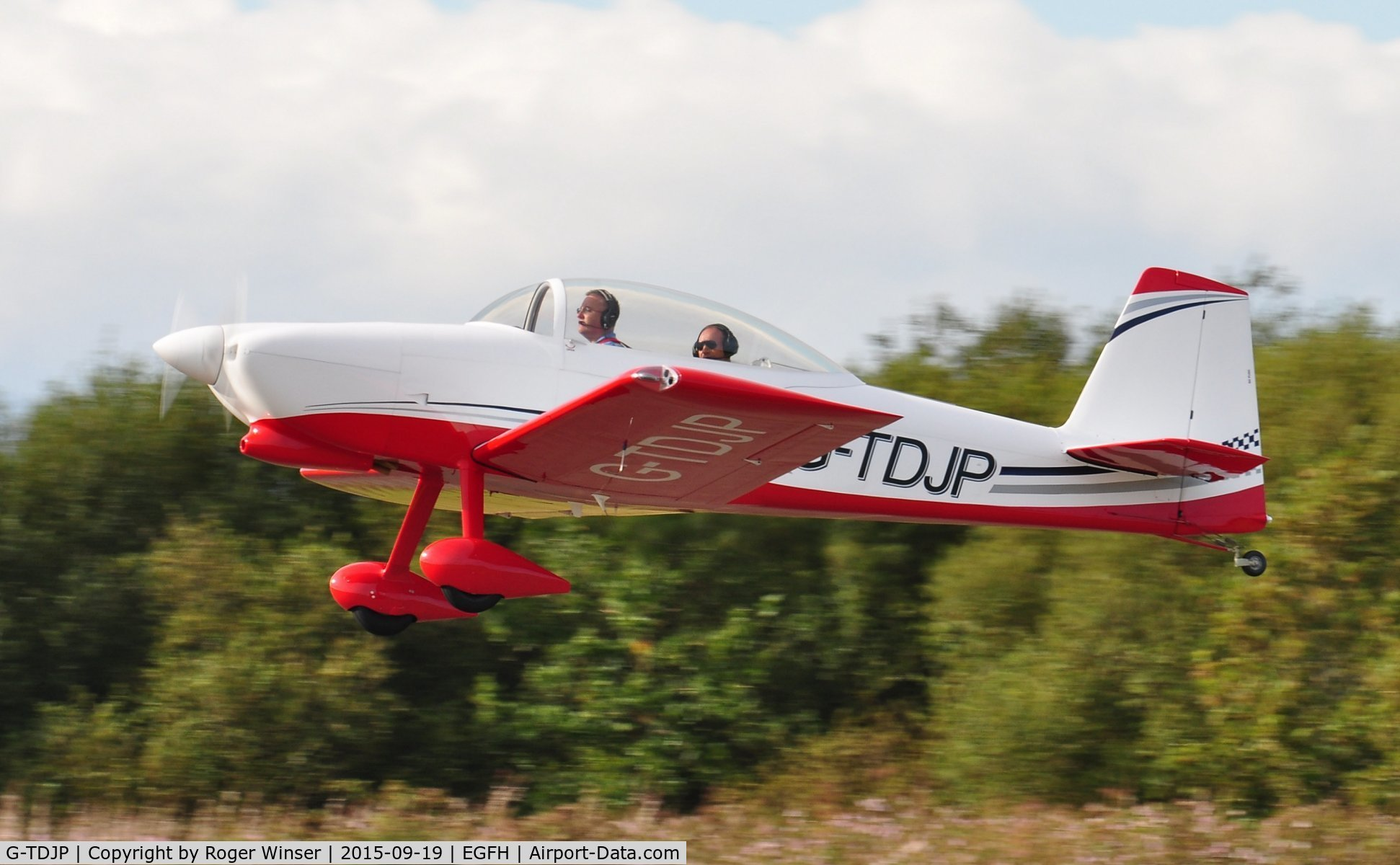Aircraft G-TDJP (2013 Vans RV-8 C/N LAA 303-15056) Photo by