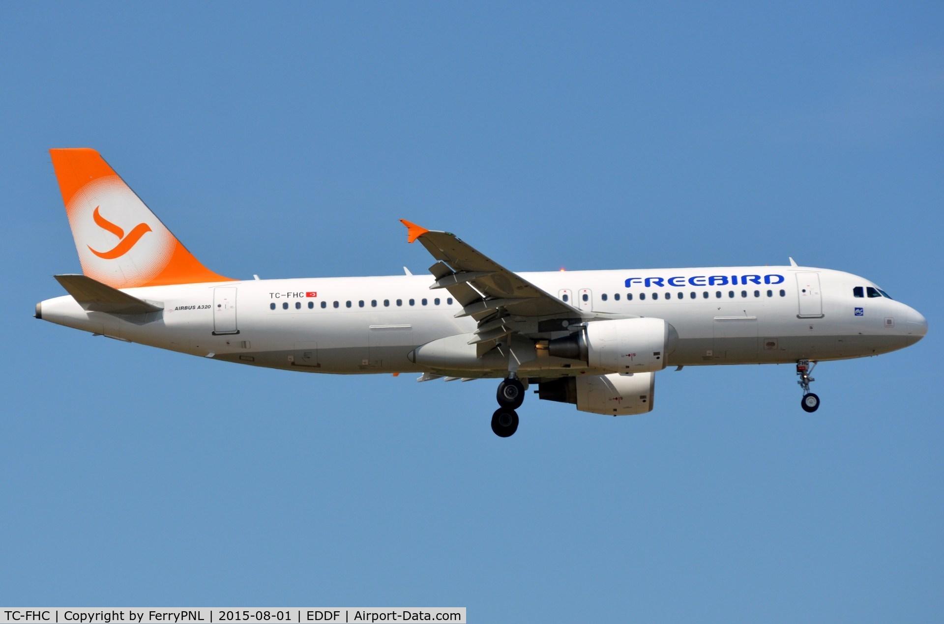 Fhy5577 Freebird Airlines A 320 A320 Tc Fhc Ykoon Flight Radar